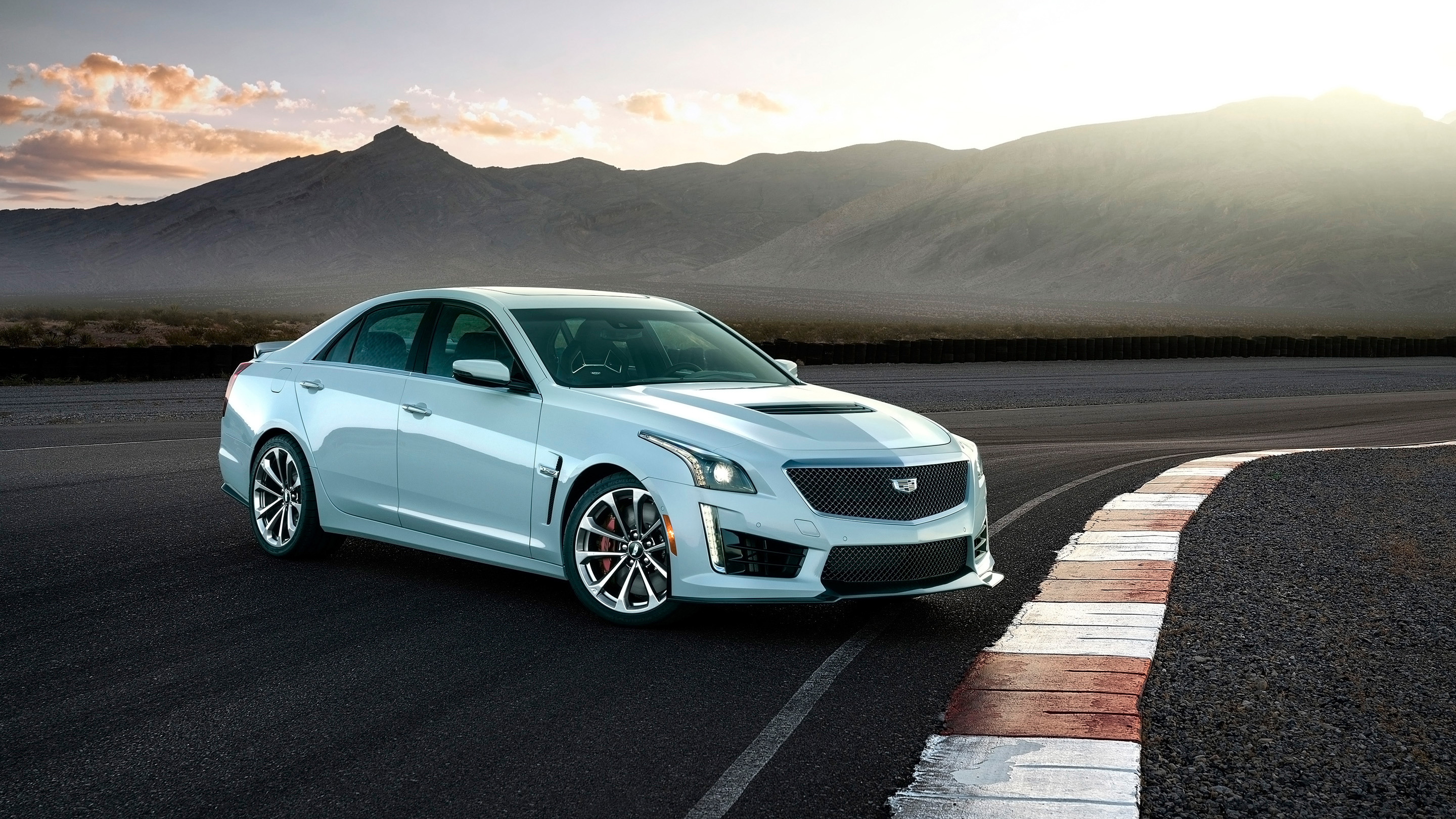 2018 Cadillac CTS V Glacier Metallic Edition Wallpapers