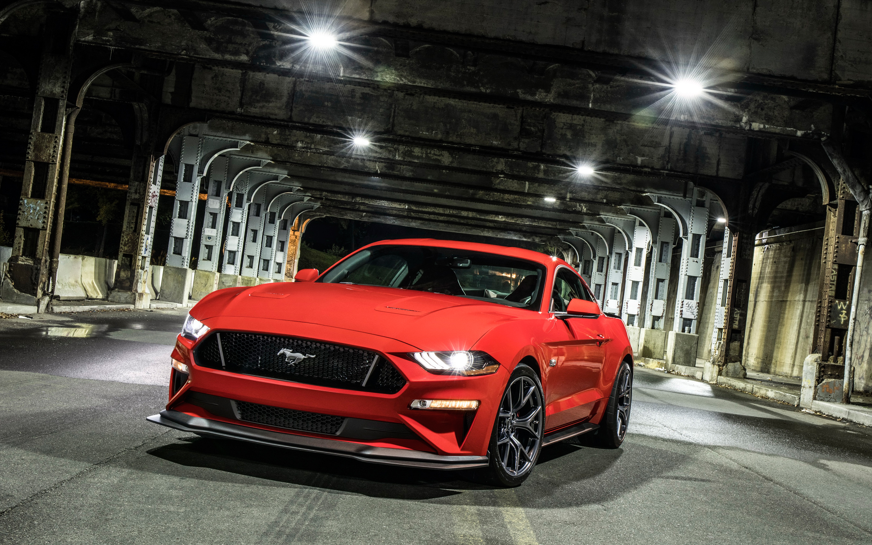 2018 Ford Mustang GT Performance Pack Level 2 4K Wallpapers