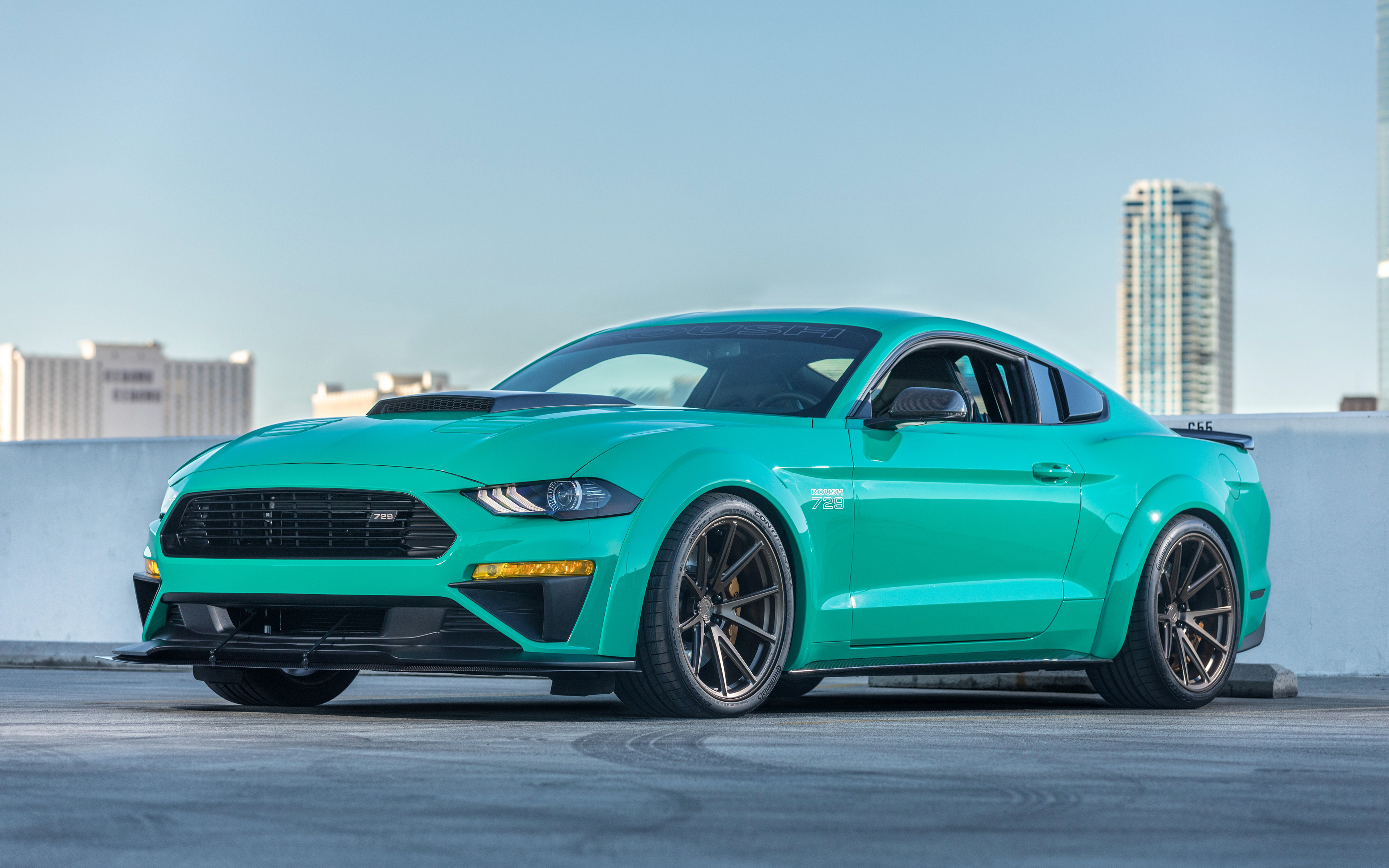 2018 Roush Mustang 729 4K Wallpapers