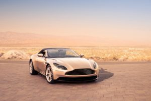 Aston Martin DB11 Volante 2018 4K Wallpapers