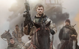Chris Hemsworth in 12 Strong 2018 Wallpapers
