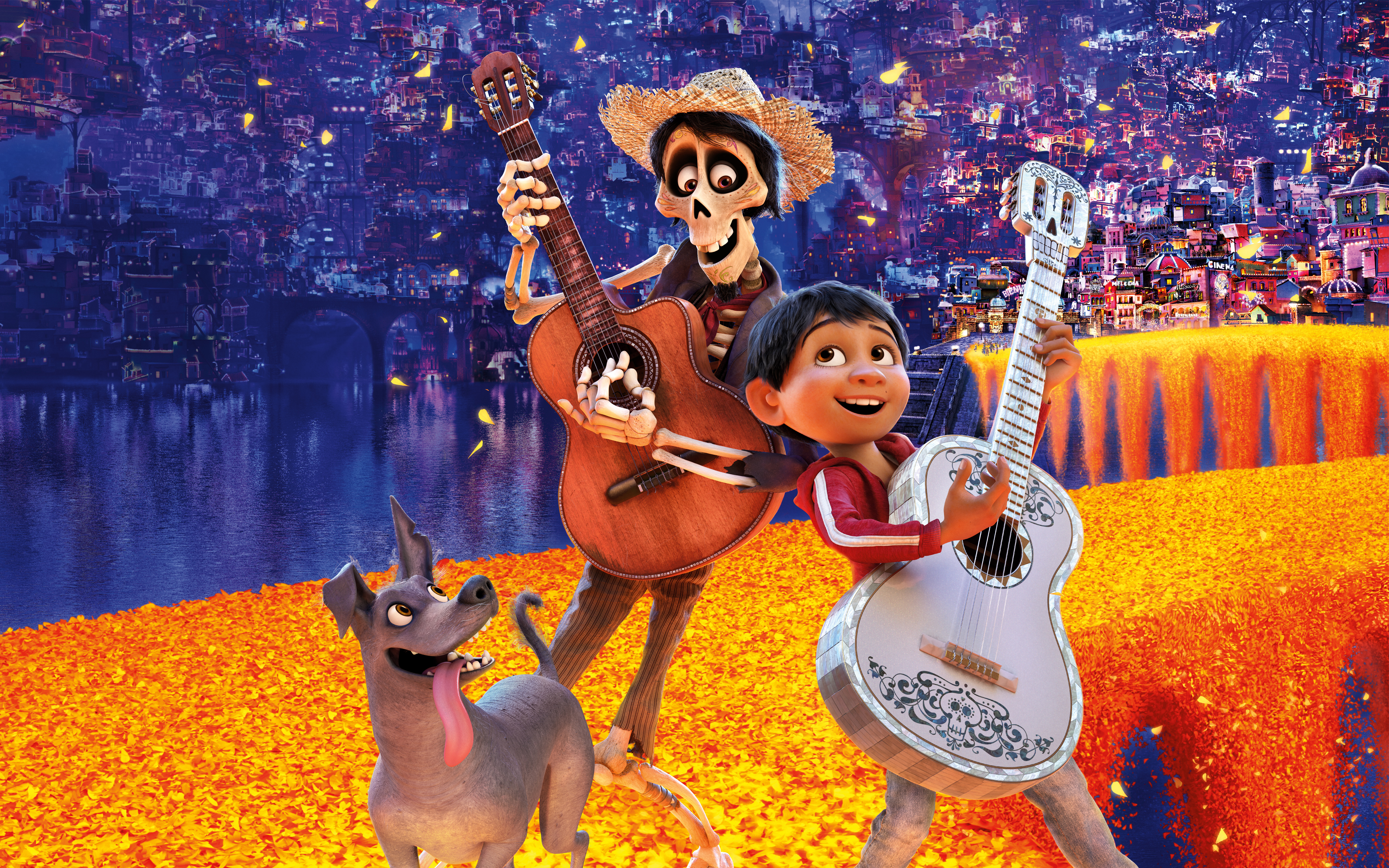 Coco Animation Movie 4K 8K