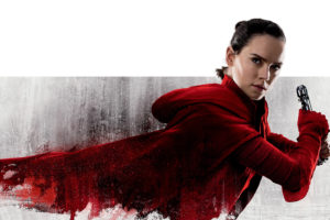 Daisy Ridley as Rey in Rey Star Wars The Last Jedi  4K
