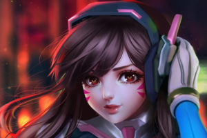 DVa Overwatch Fan art