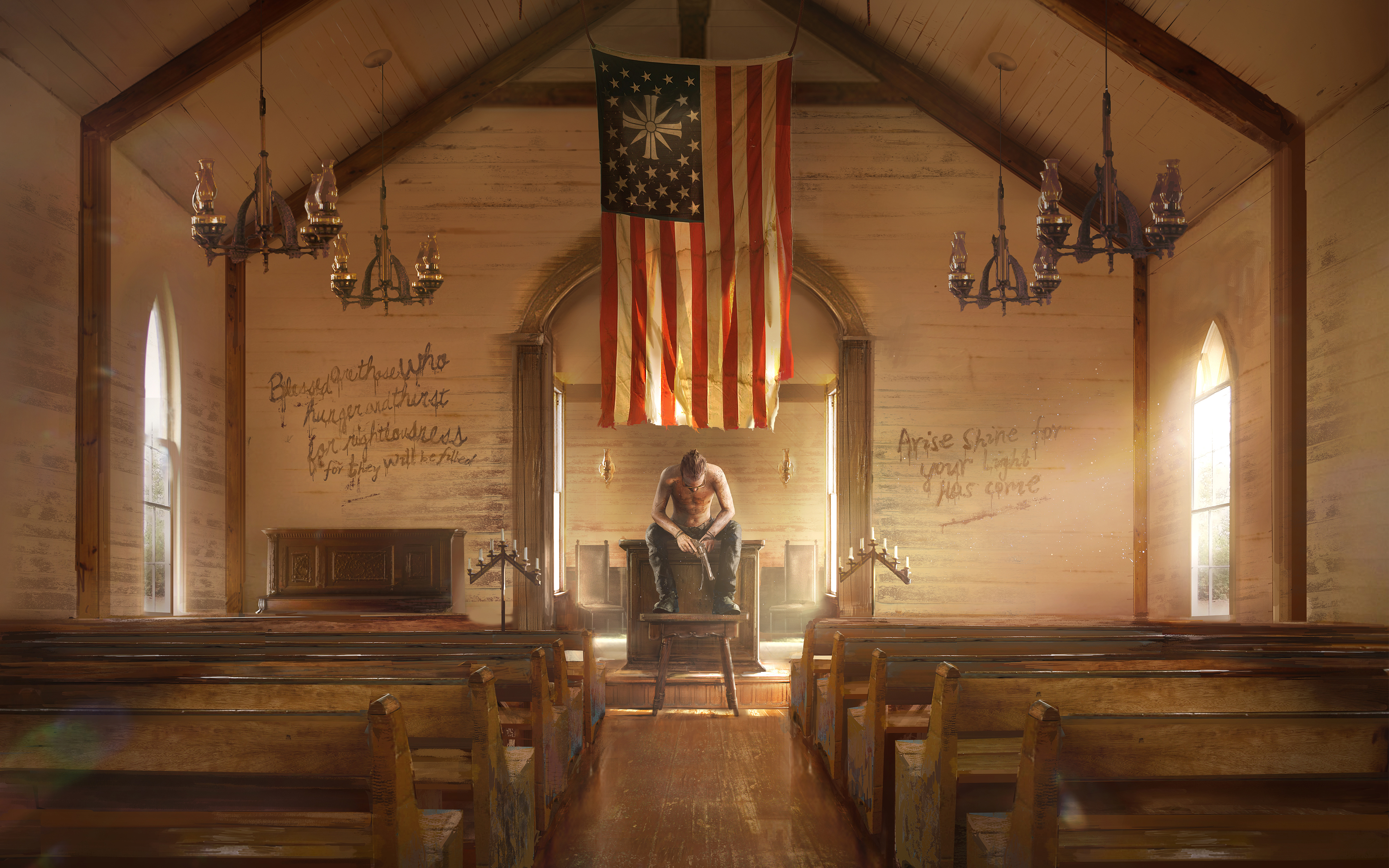 Far Cry 5 Wallpaper 4k: Far Cry 5 Absolution 4K 8K Wallpapers