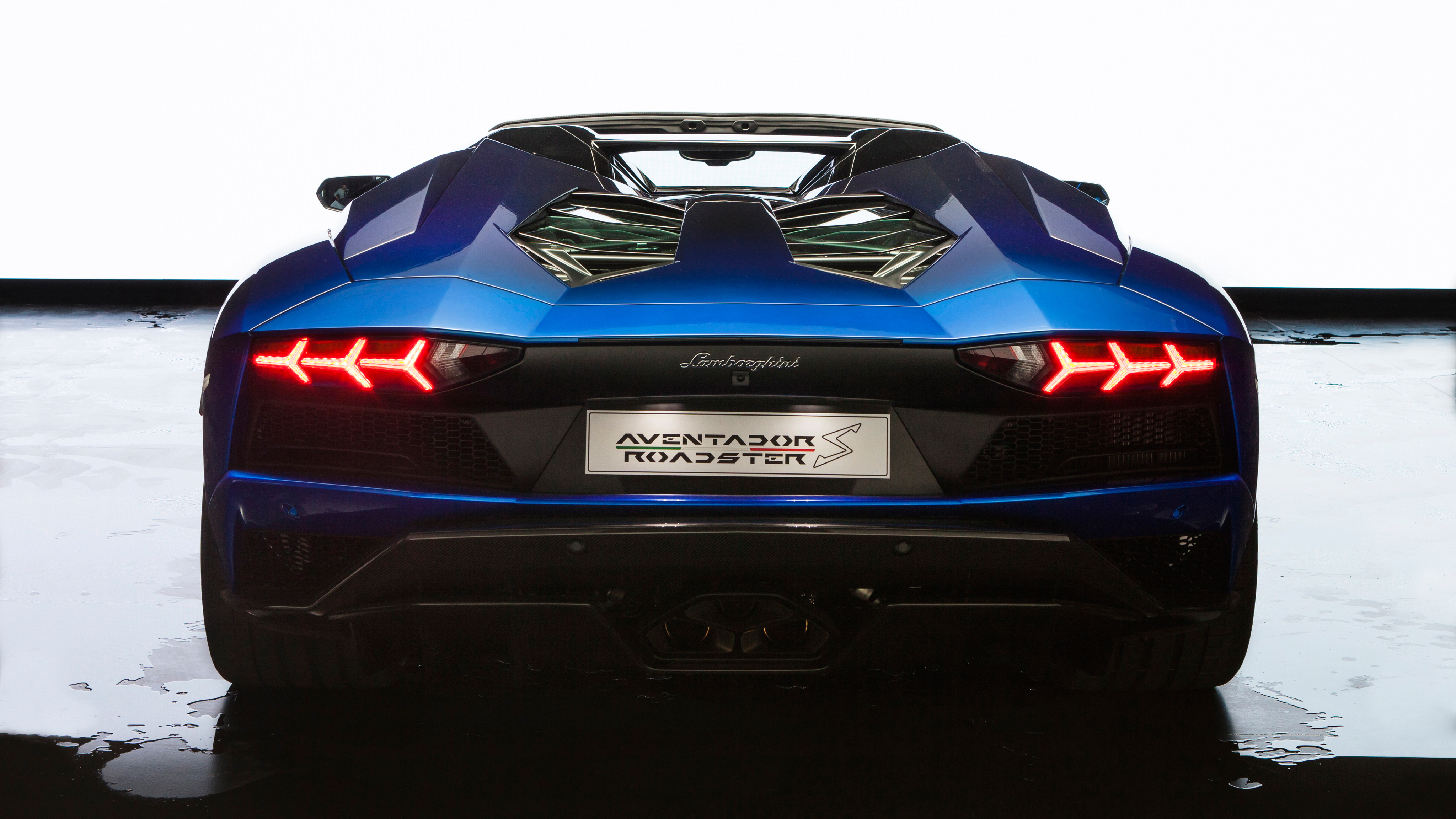 Lamborghini Aventador S Roadster 50th Anniversary Japan 4K 2017 Wallpapers