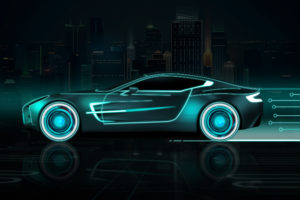 Neon Sports Car Wallpapers