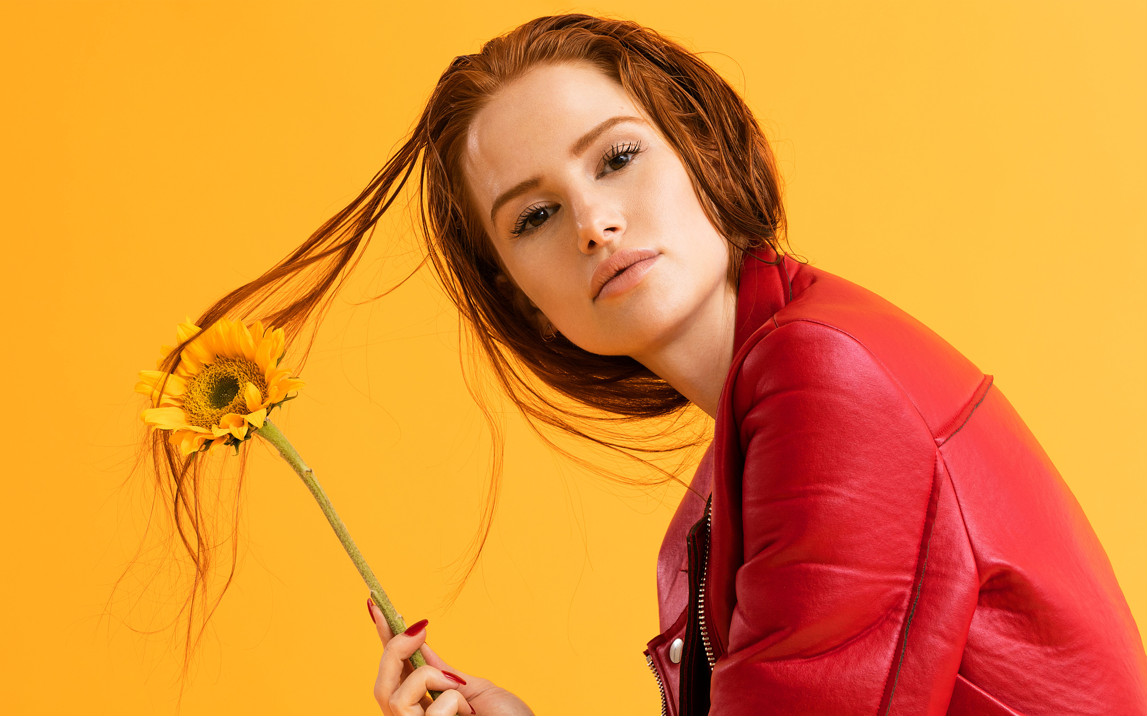 Rriverdale Actress Madelaine Petsch 5K Wallpapers