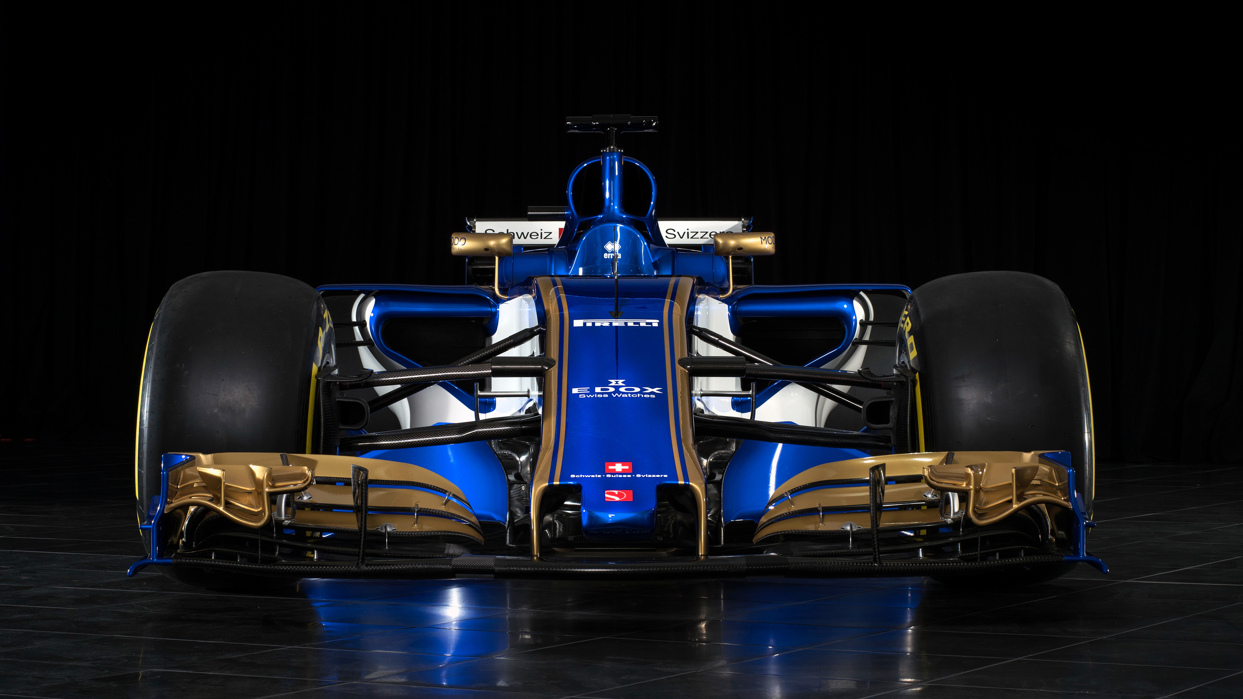 Sauber C36 2017 F1 Car 4K Wallpapers