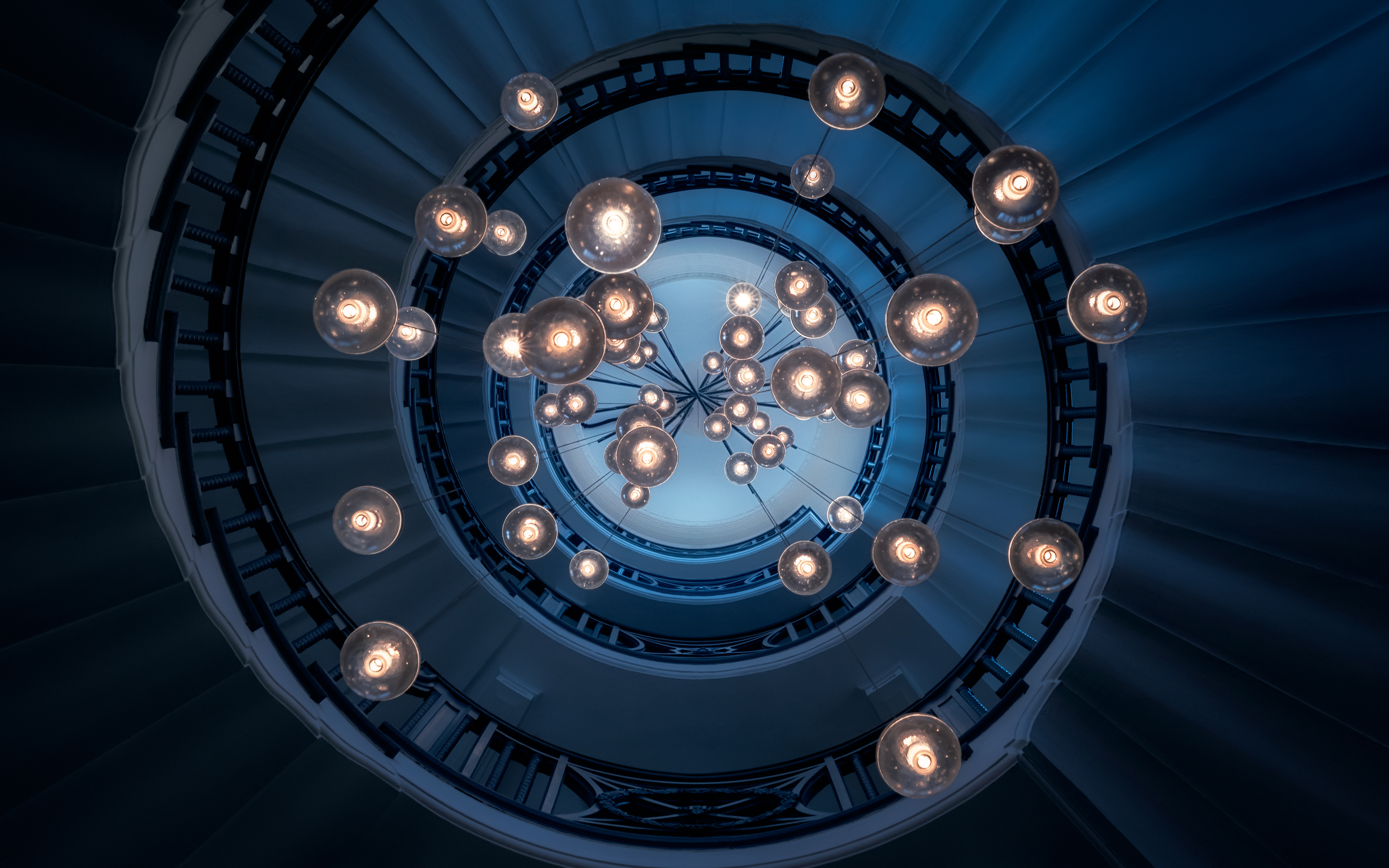 Spiral Staircase 4K Wallpapers