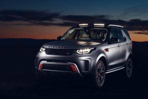 2018 Land Rover Discovery SVX 4K Wallpapers