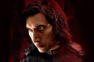 Adam Driver as Kylo Ren in Star Wars The Last Jedi Wallpapers