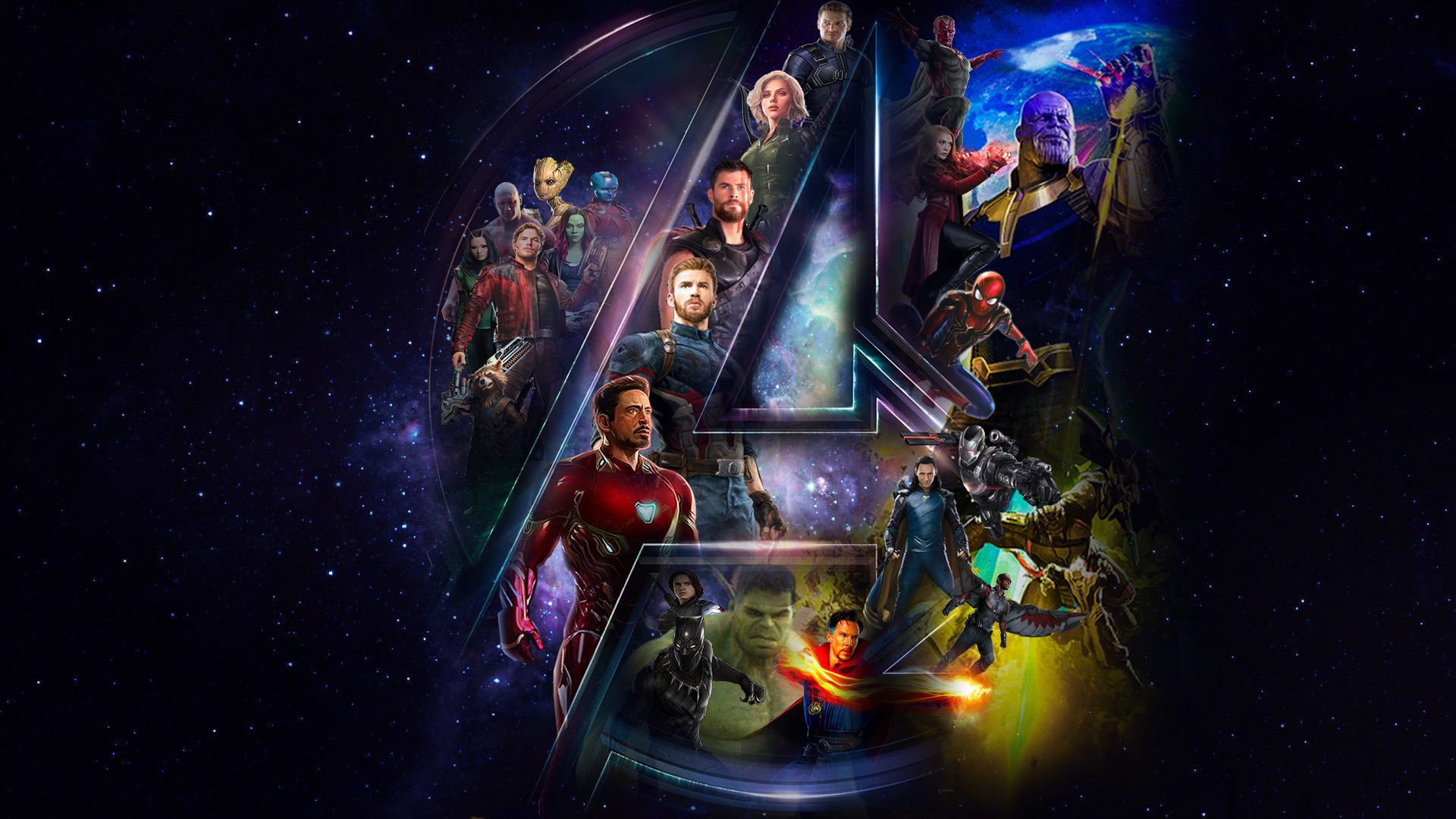 Avengers Infinity War Iphone Wallpaper: Avengers Infinity War Fan Art Wallpapers