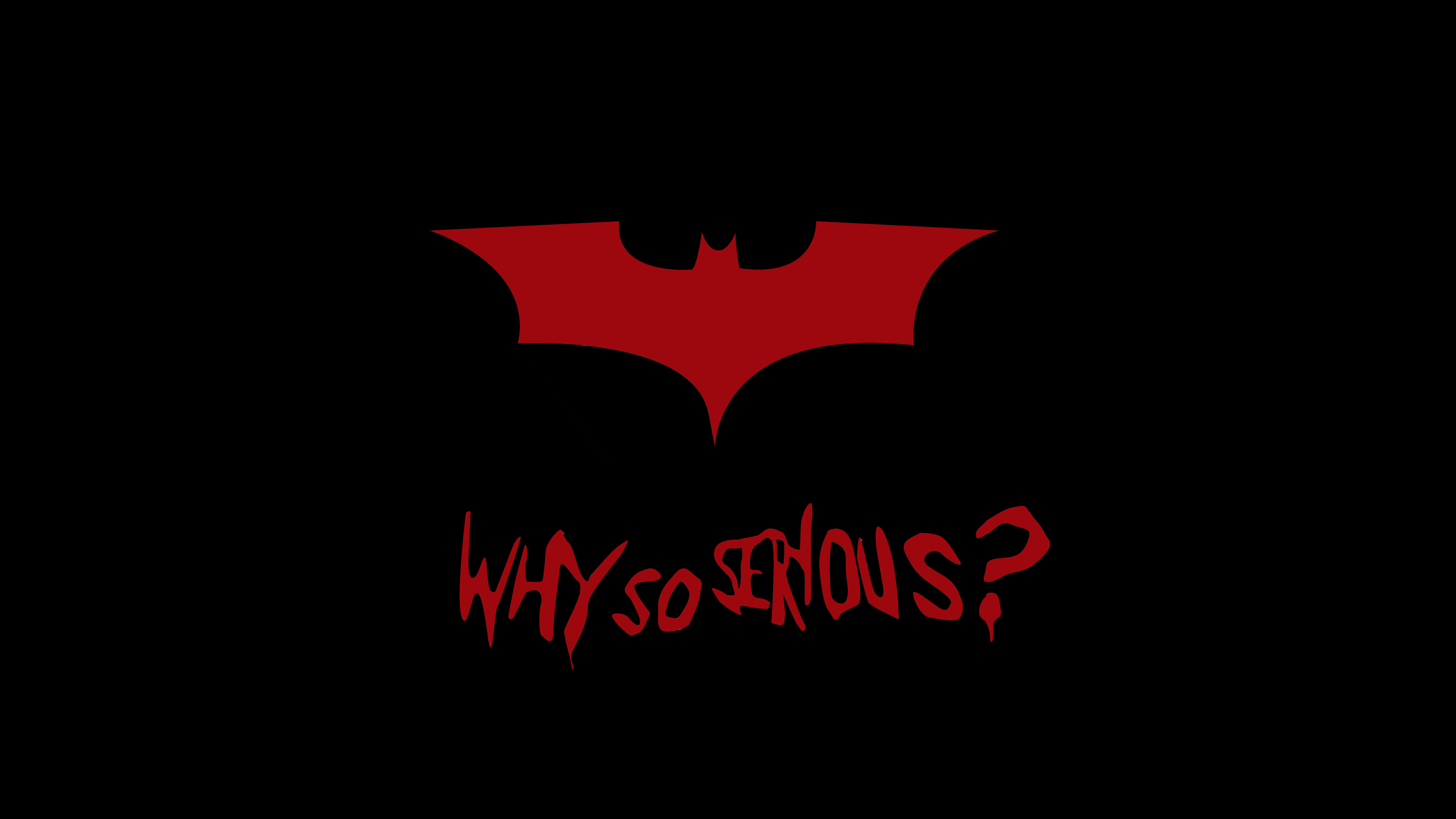 Batman Why So Serious 4K 8K Wallpapers