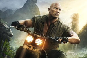 Dwayne Johnson in Jumanji Welcome to the Jungle 5K Wallpapers