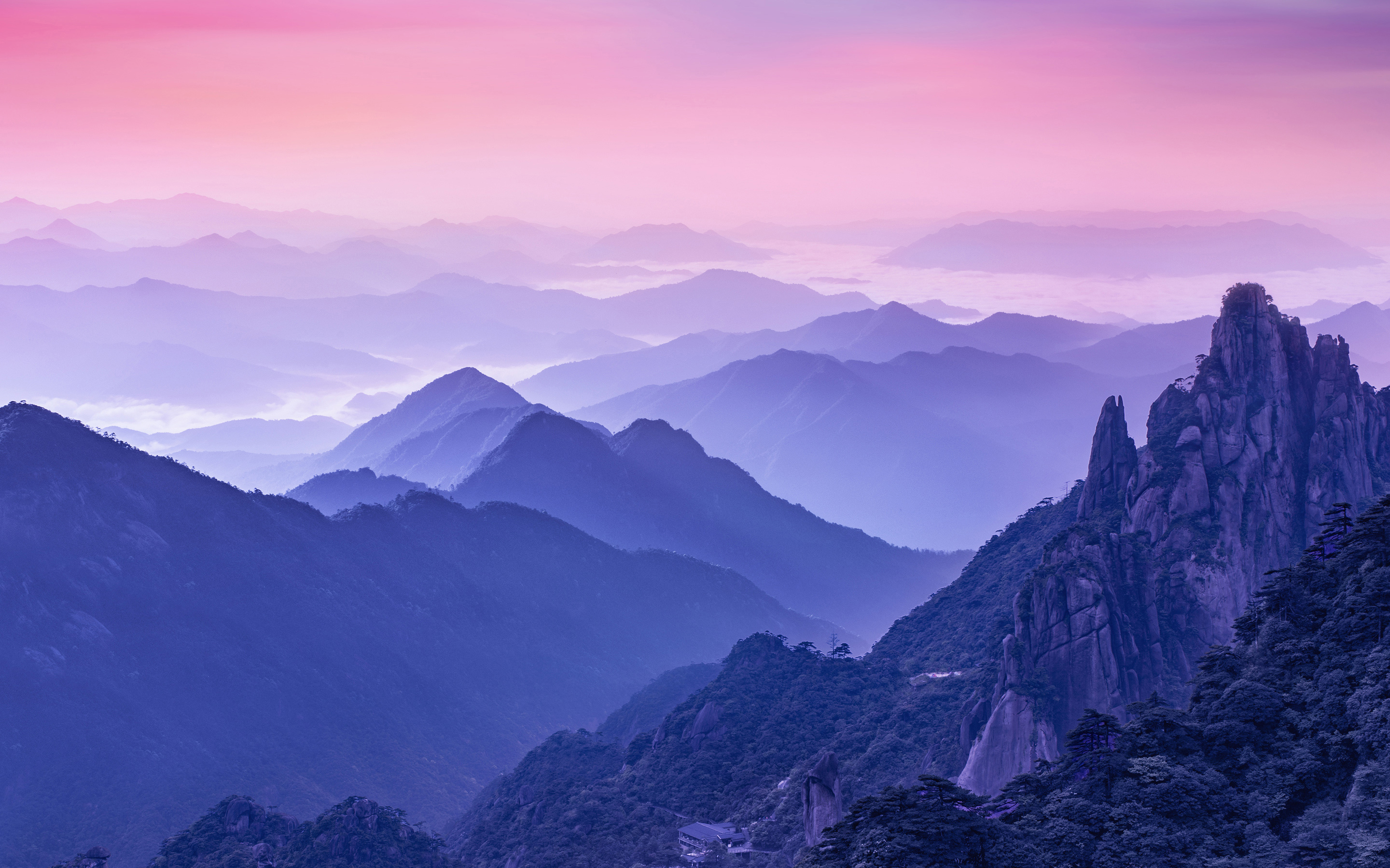 Foggy Morning Mountains Wallpapers   HD Wallpapers