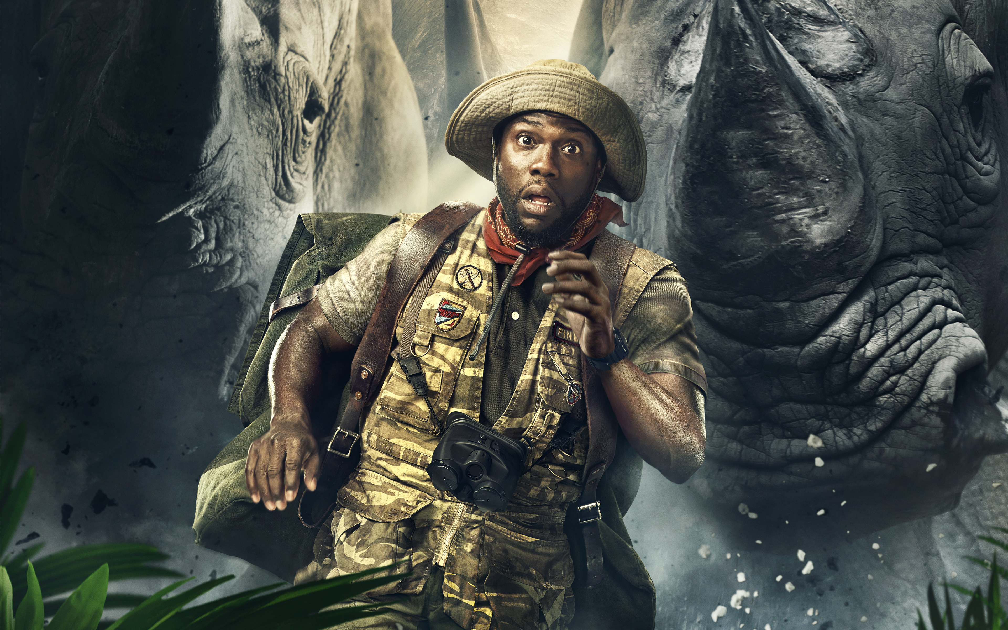 Kevin Hart Jumanji Welcome to the Jungle 5K Wallpapers