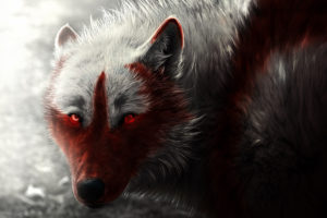 Scary Wolf