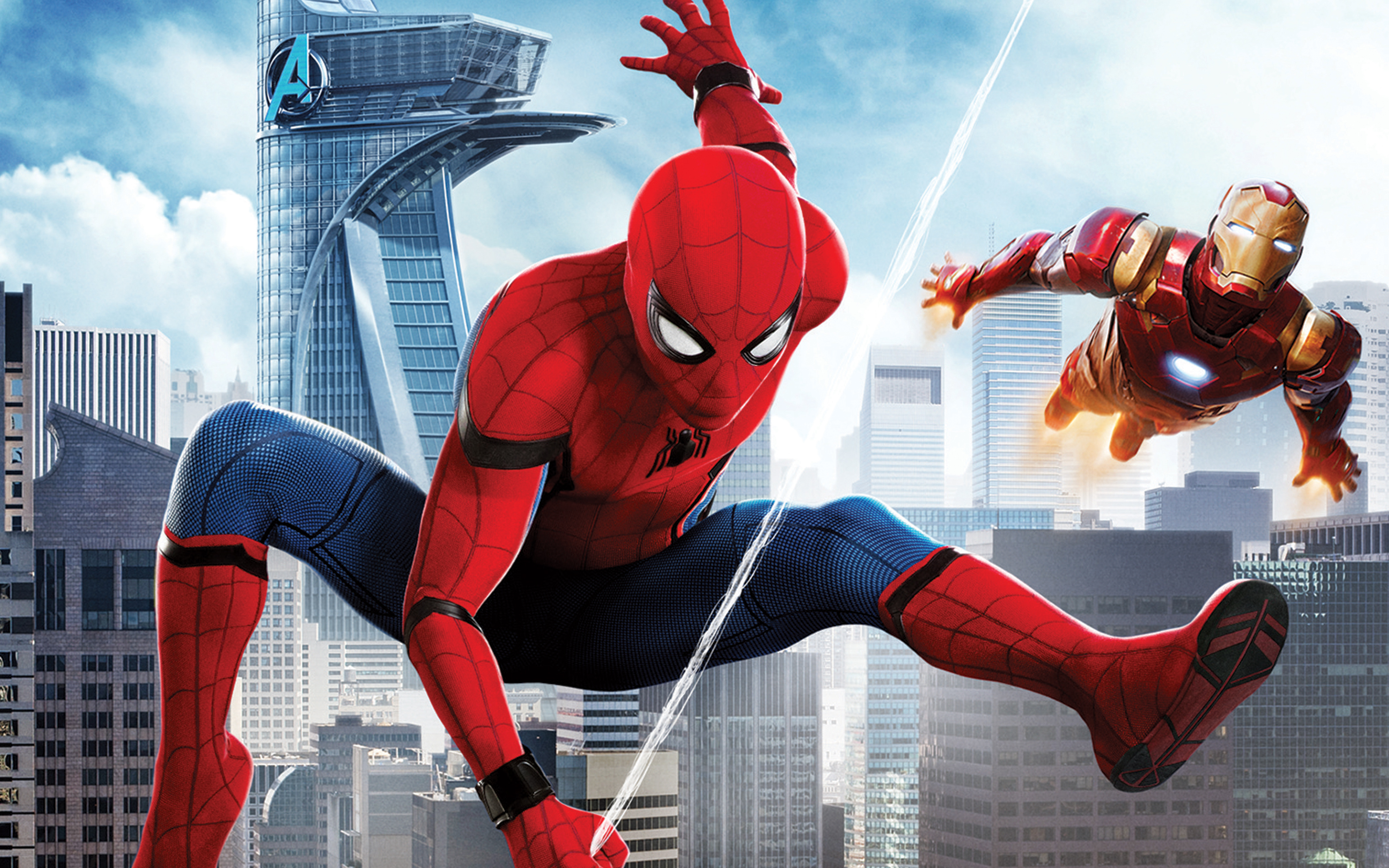 Spider Man Homecoming Iron Man Wallpapers