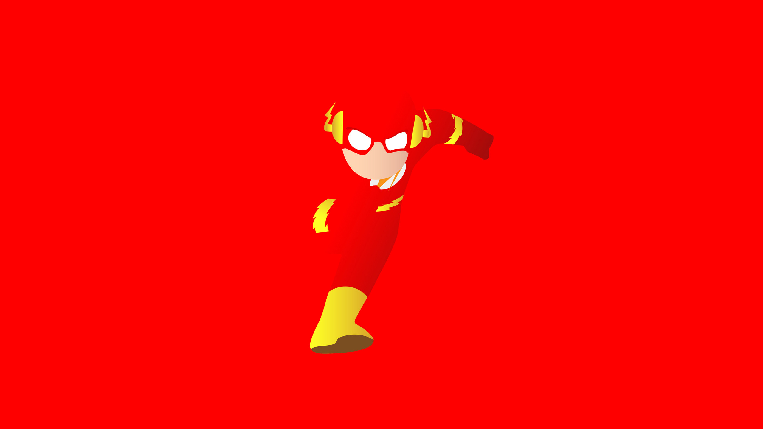 The Flash Minimal Wallpapers Hd Wallpapers