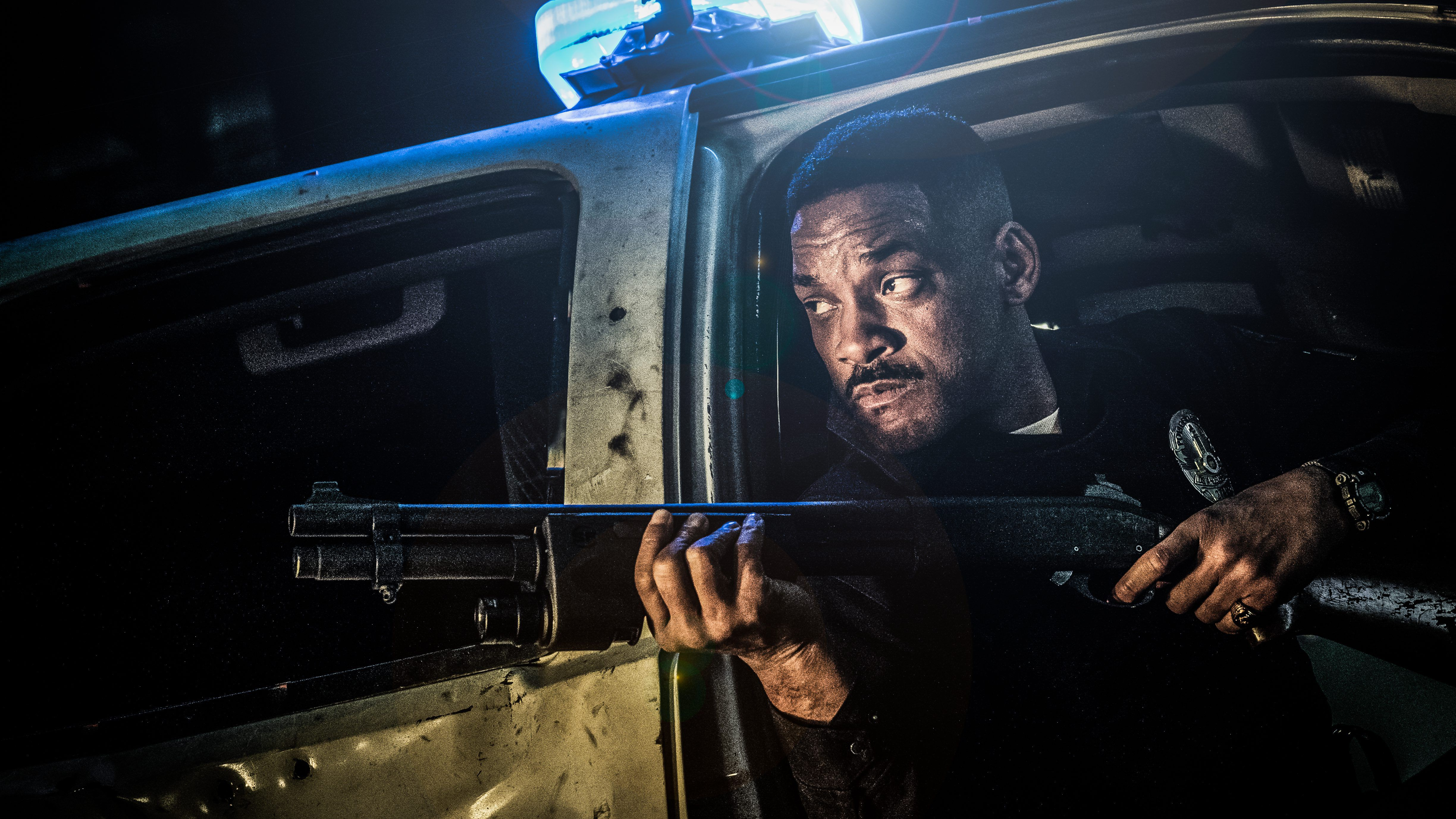 Will Smith in Bright 2017 Movie 4K
