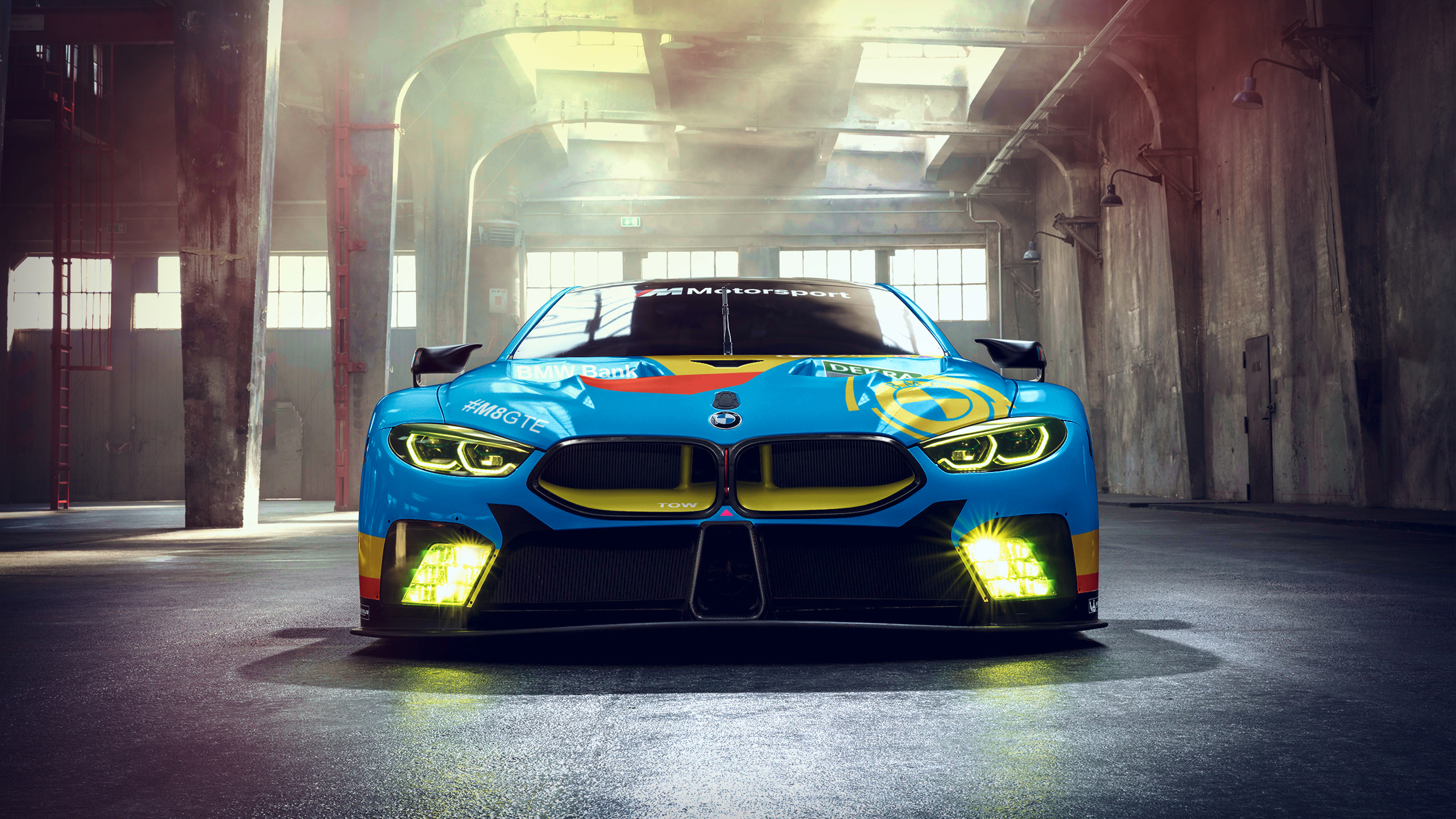 BMW M8 GTE HD Wallpapers