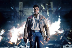 John Boyega as Finn Star Wars The Last Jedi 4K
