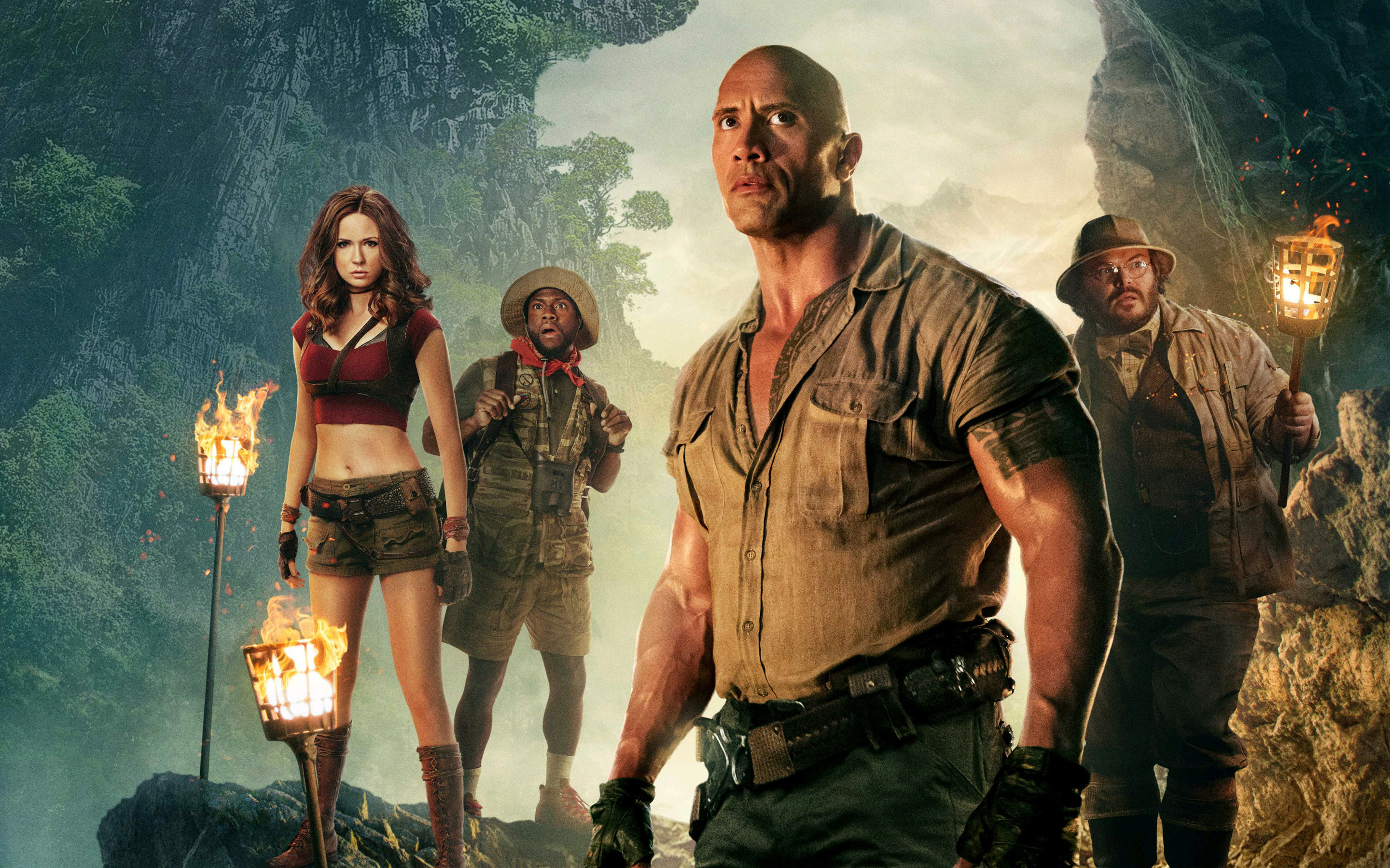 Jumanji Welcome to the Jungle HD Wallpapers