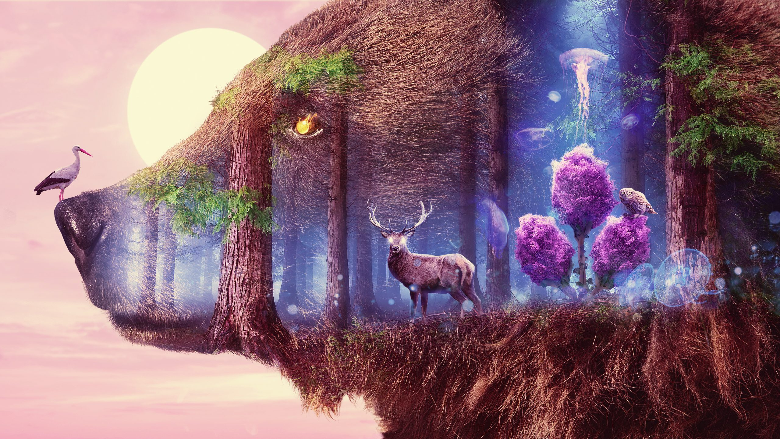 Mystical Wildlife Wallpapers