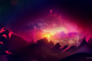 Pink Sunset Wallpapers