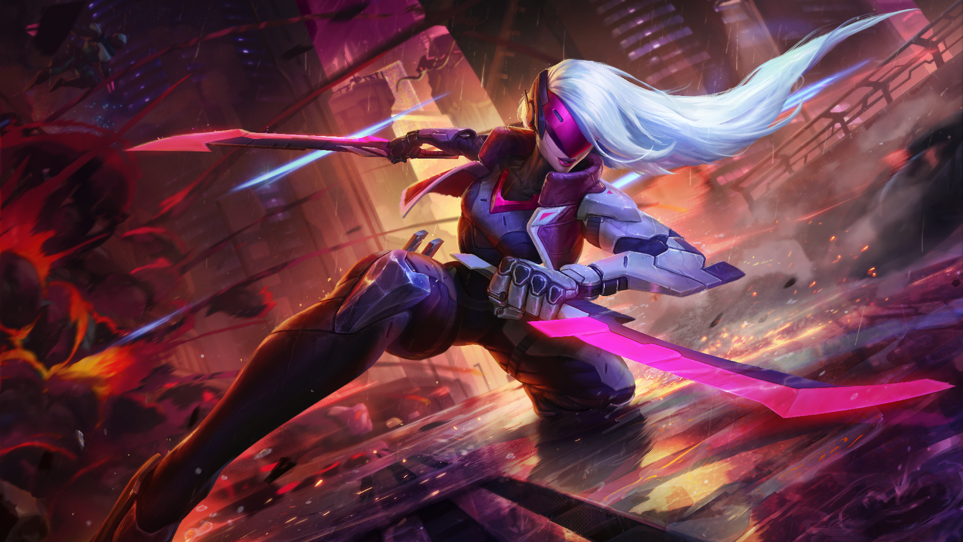 project katarina league of legends wallpapers hd wallpapers