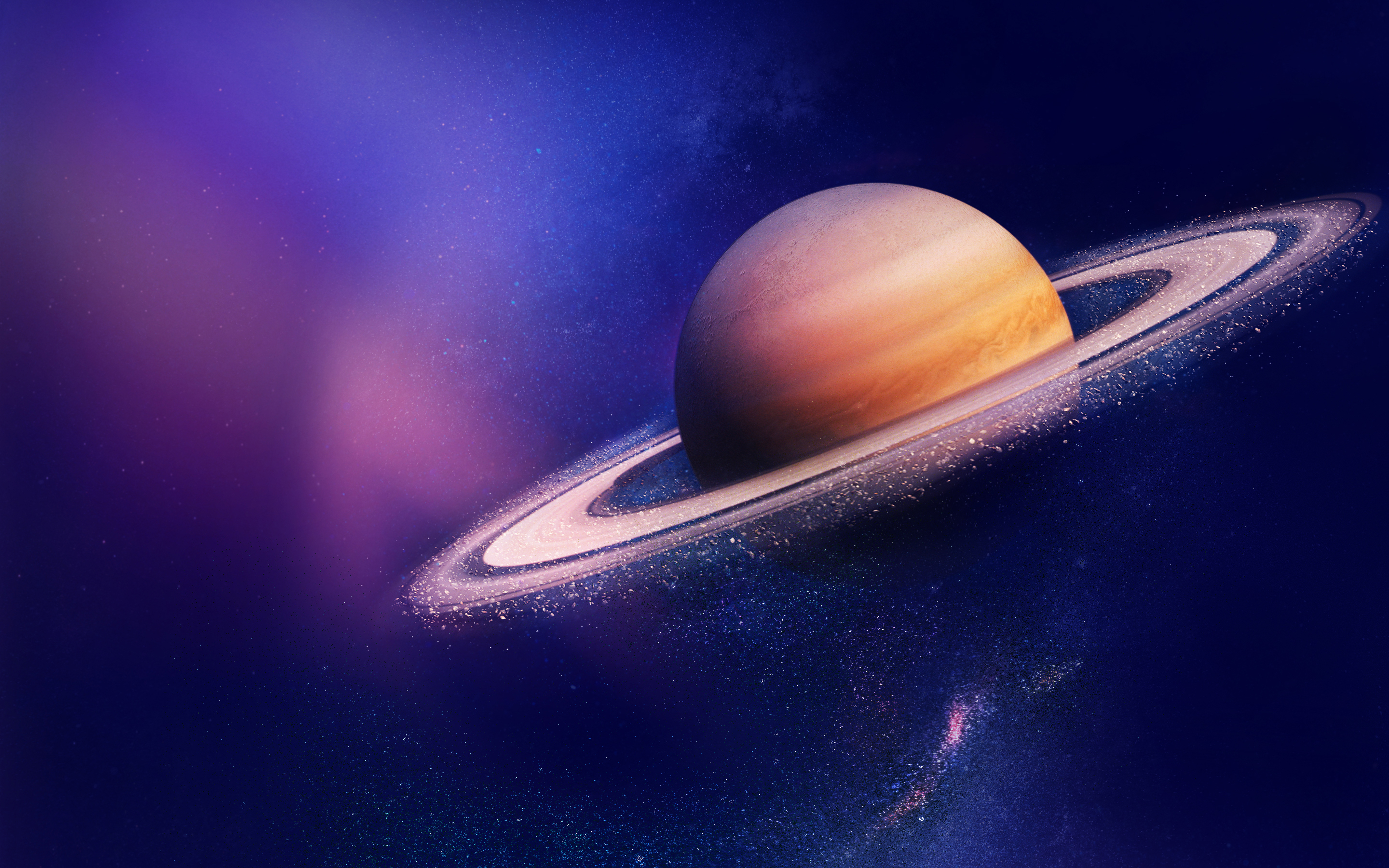 Saturn Dust HD Wallpapers