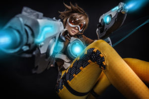 Tracer Cosplay Overwatch
