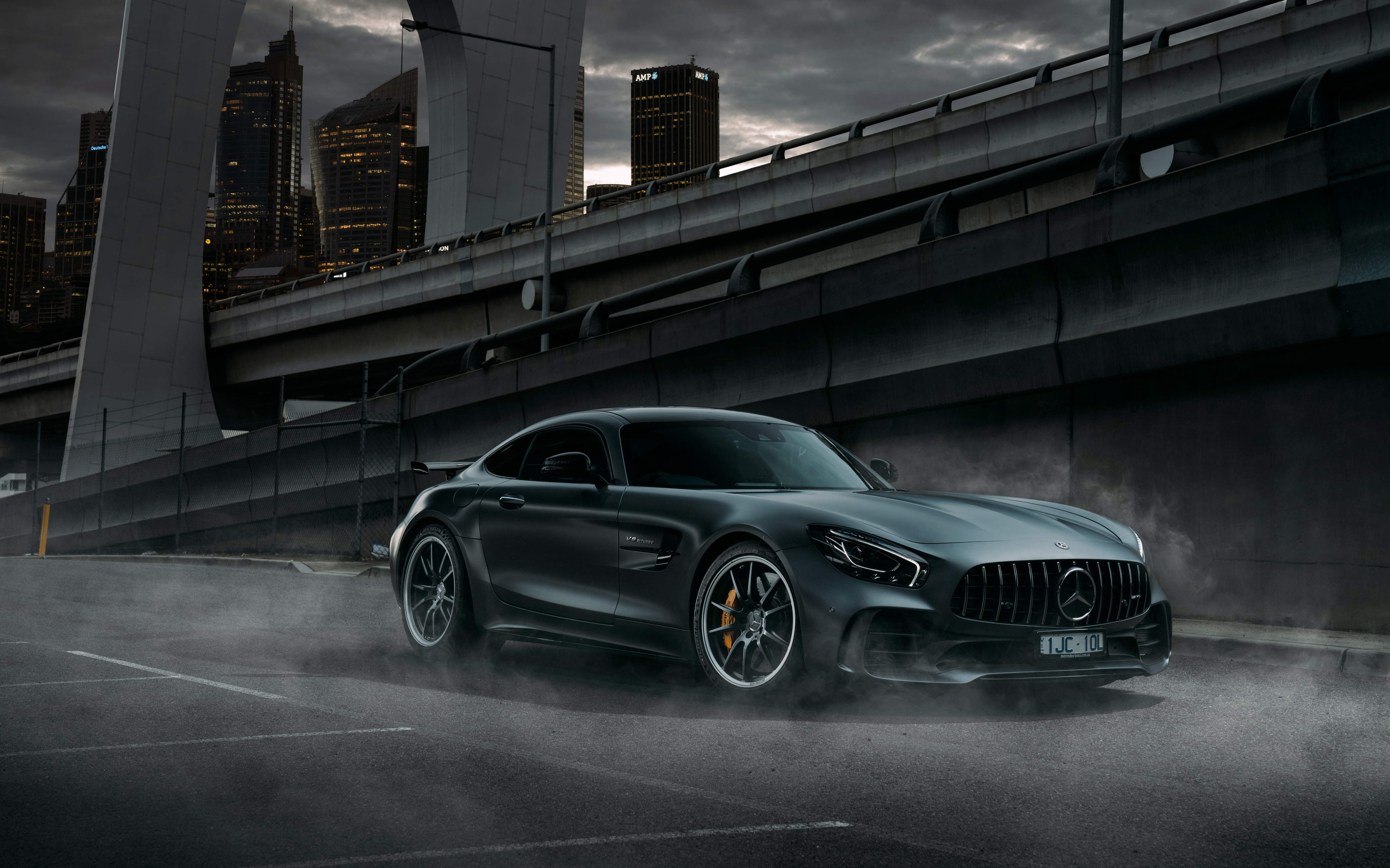 Mercedes AMG GT R 2018 4K Wallpapers