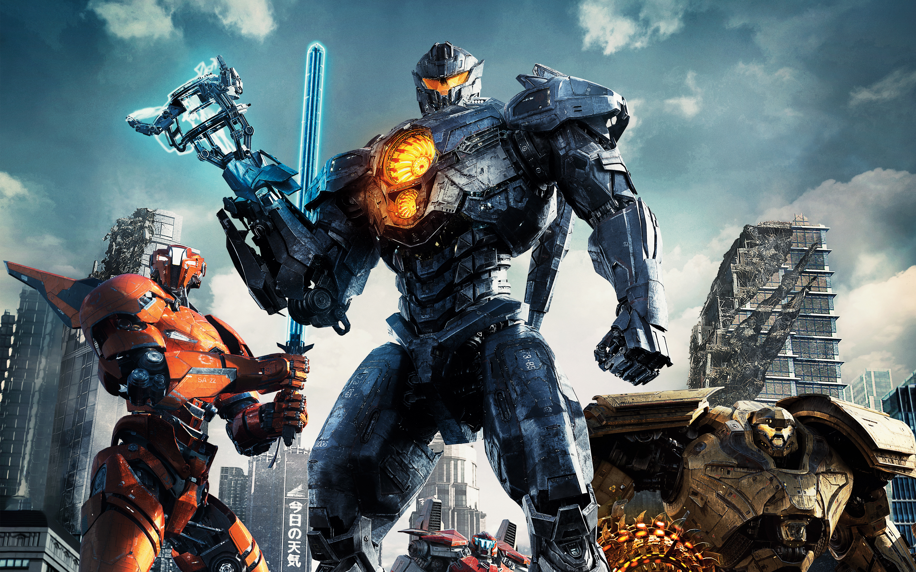 Pacific Rim 2 Uprising Wallpapers Hd Wallpapers