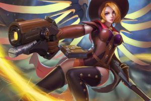 Witch Mercy Overwatch Wallpapers