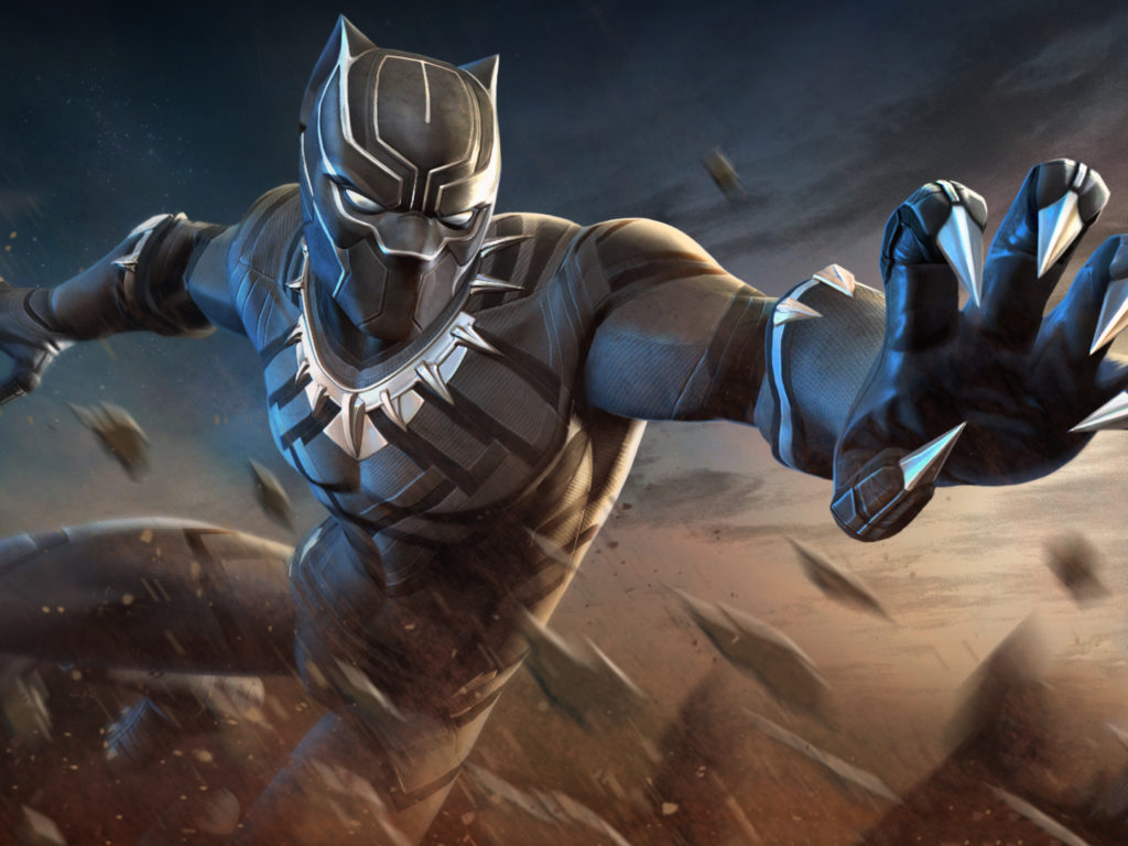 Black Panther Marvel Contest Of Champions Wallpapers Hd