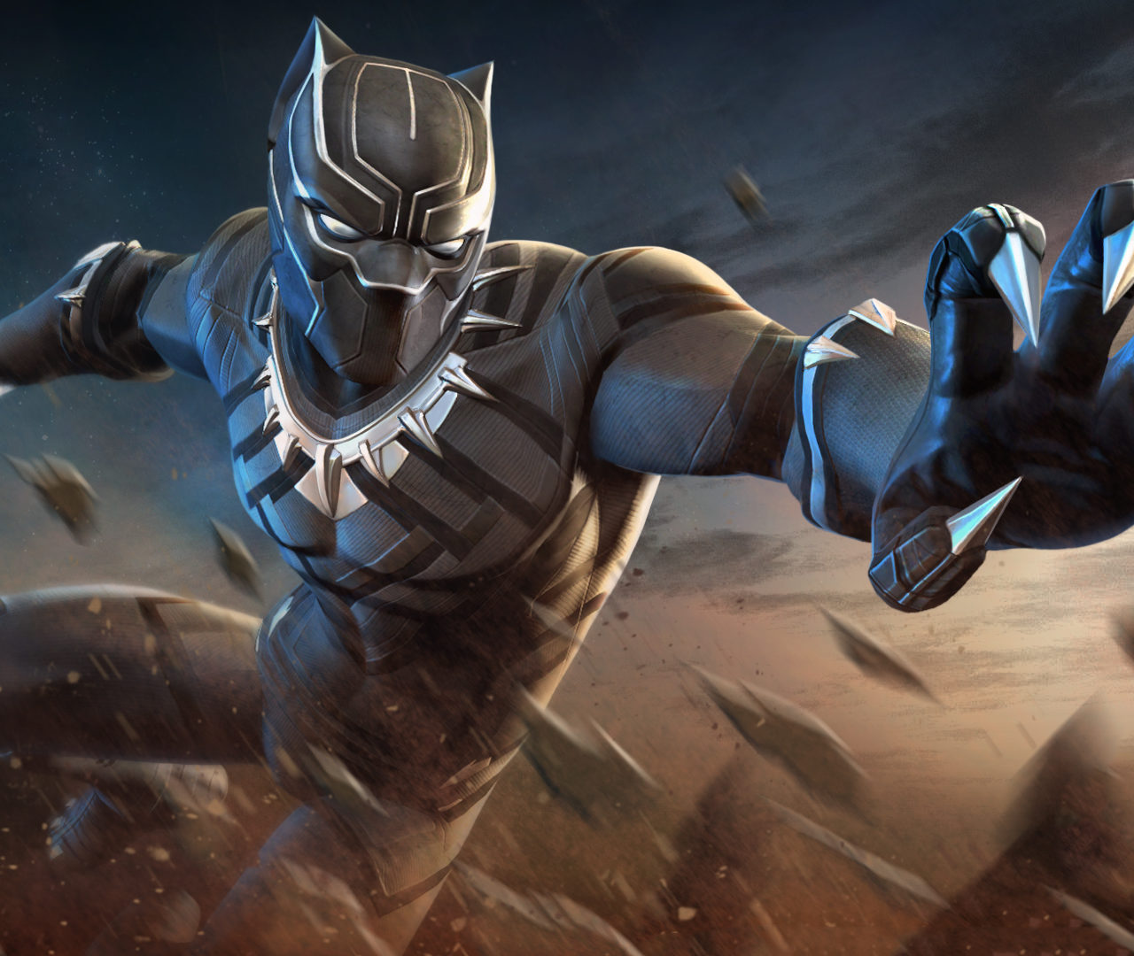 Black Tesla Model S 2015 4k Hd Wallpaper: Black Panther Marvel Contest Of Champions Wallpapers