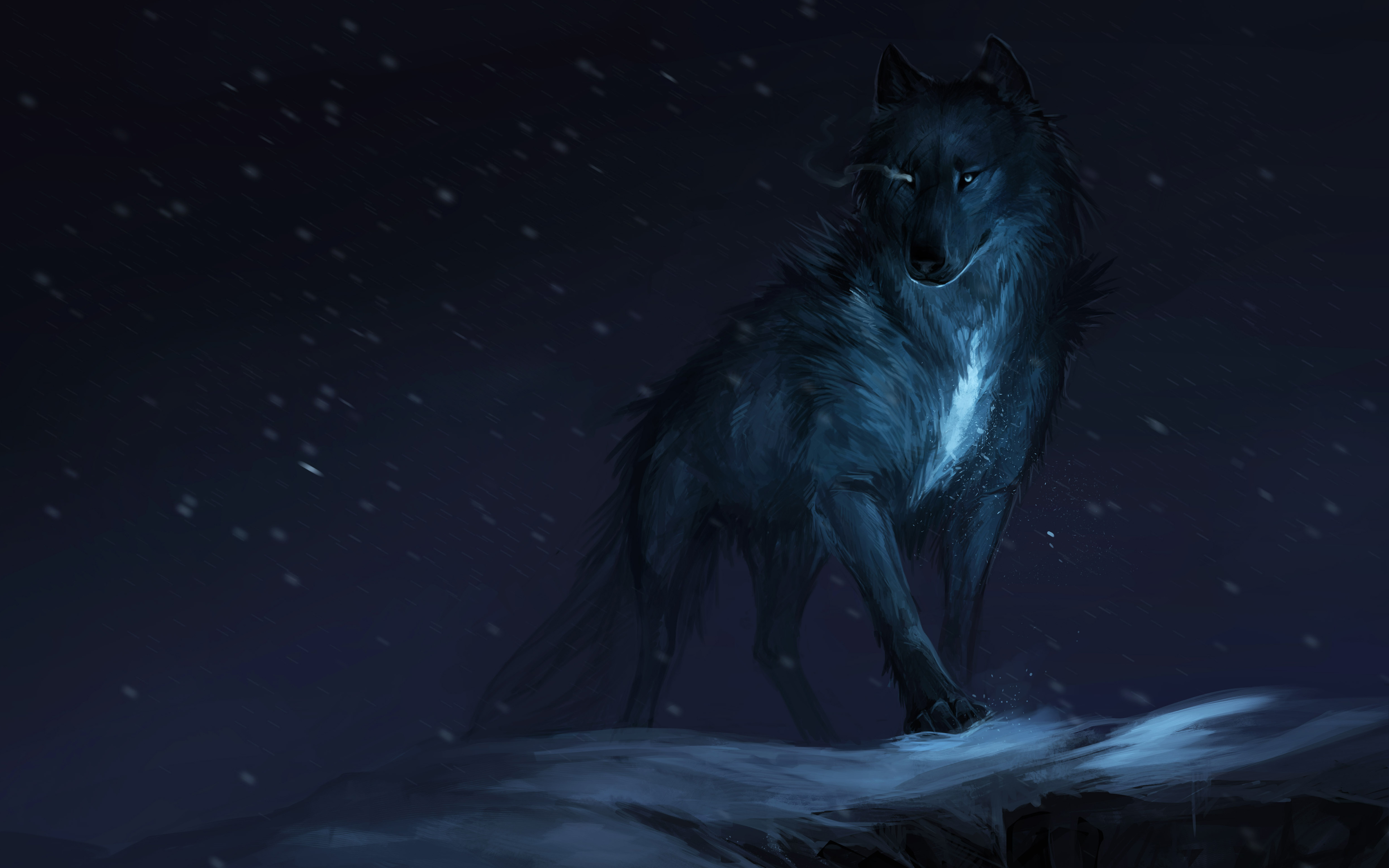 CGI Wolf Wallpapers