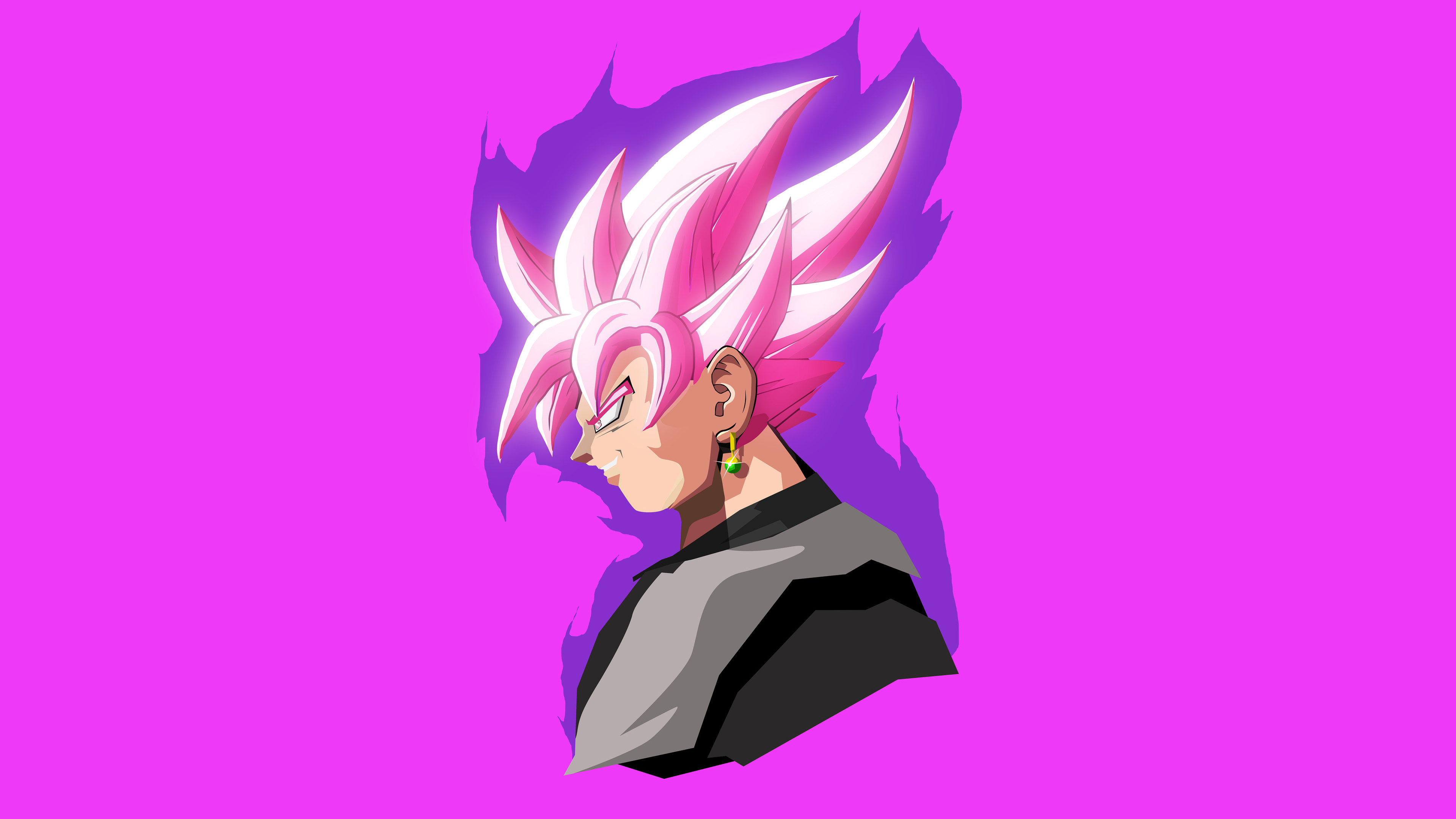 Goku Dragon Ball Super Minimal Artwork 4k Wallpapers Hd