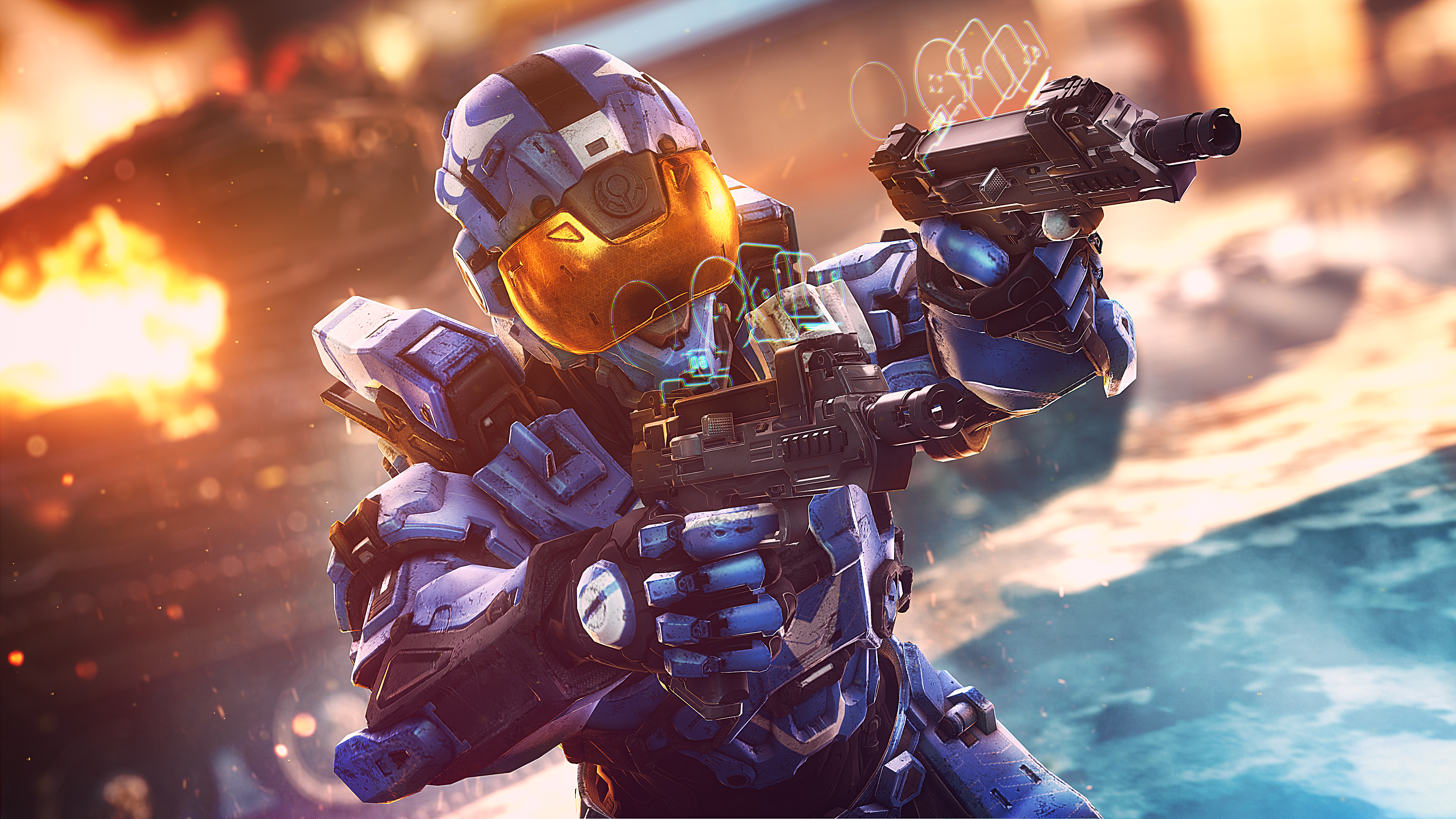 Halo Smartscopes 4K Wallpapers   HD Wallpapers