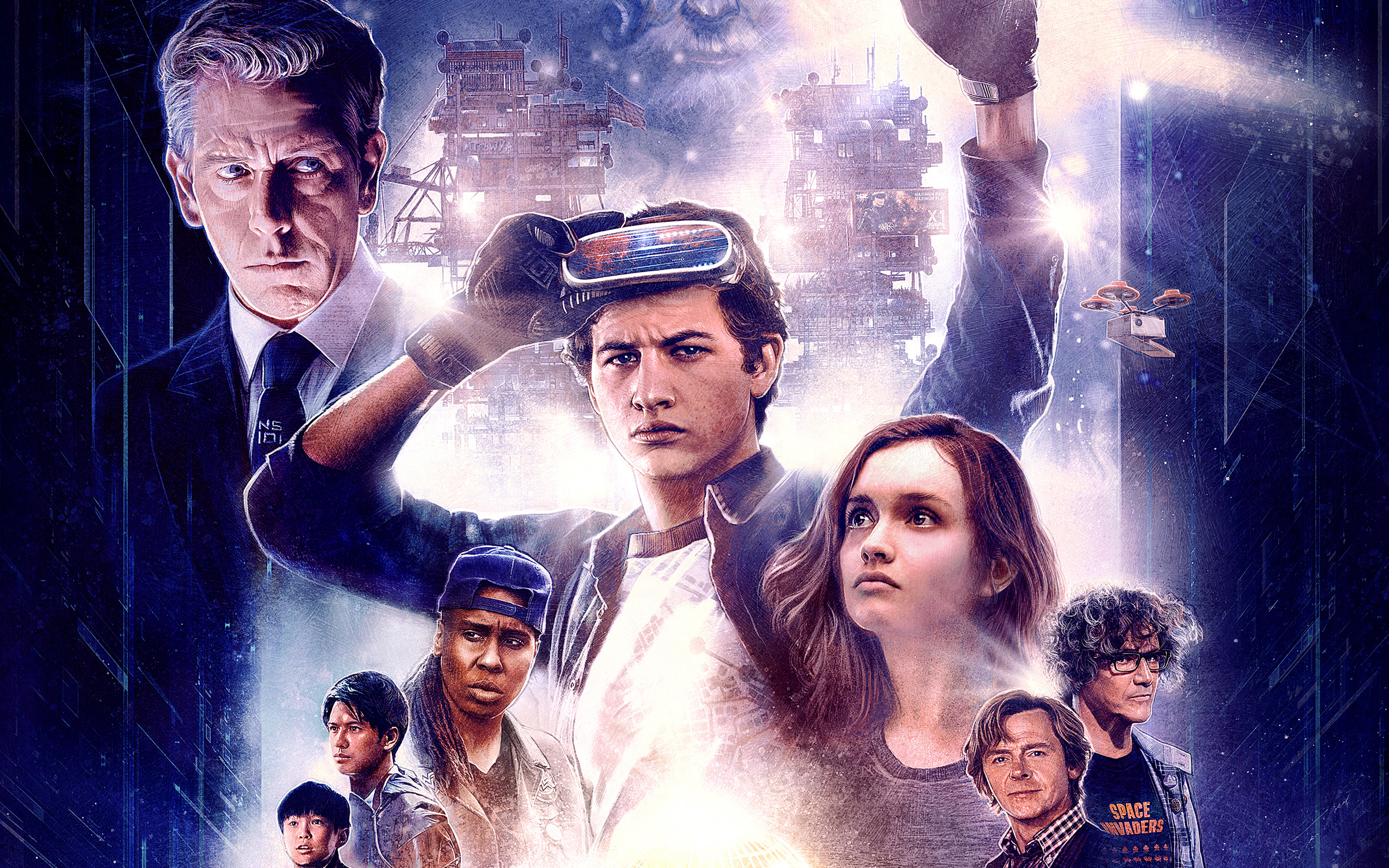 Ready Player One Artwork Wallpapers Hd Wallpapers