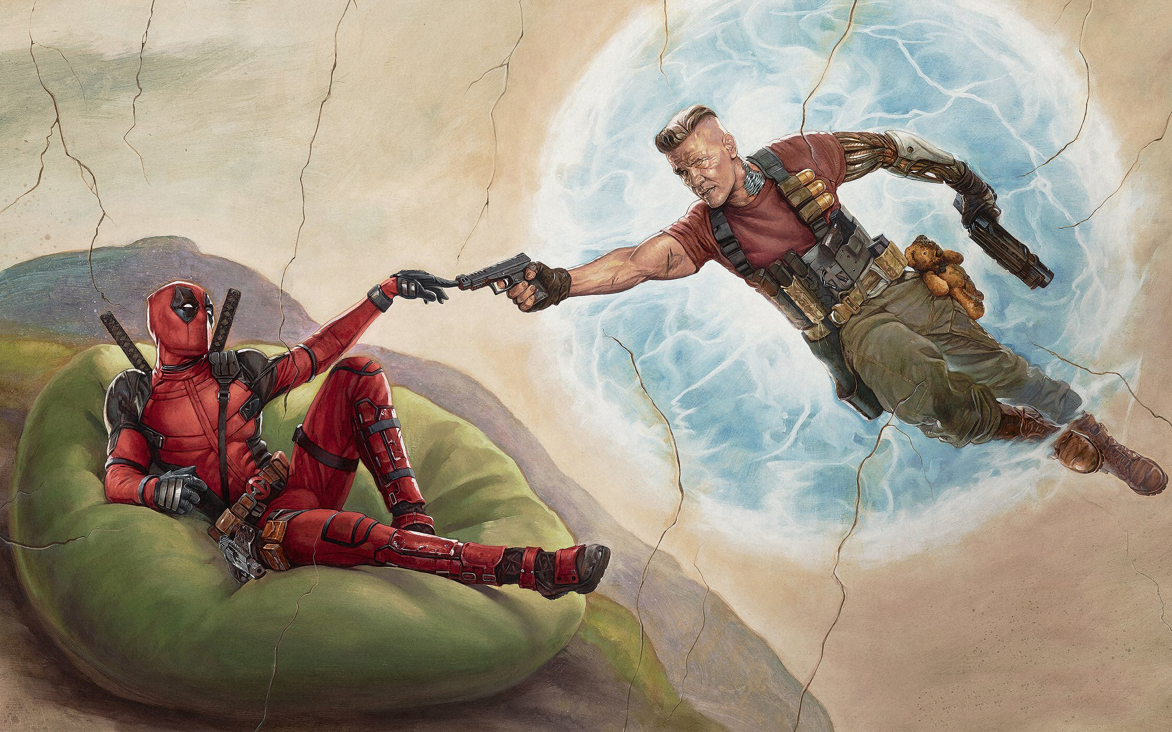 Deadpool 2 Cable Wallpapers