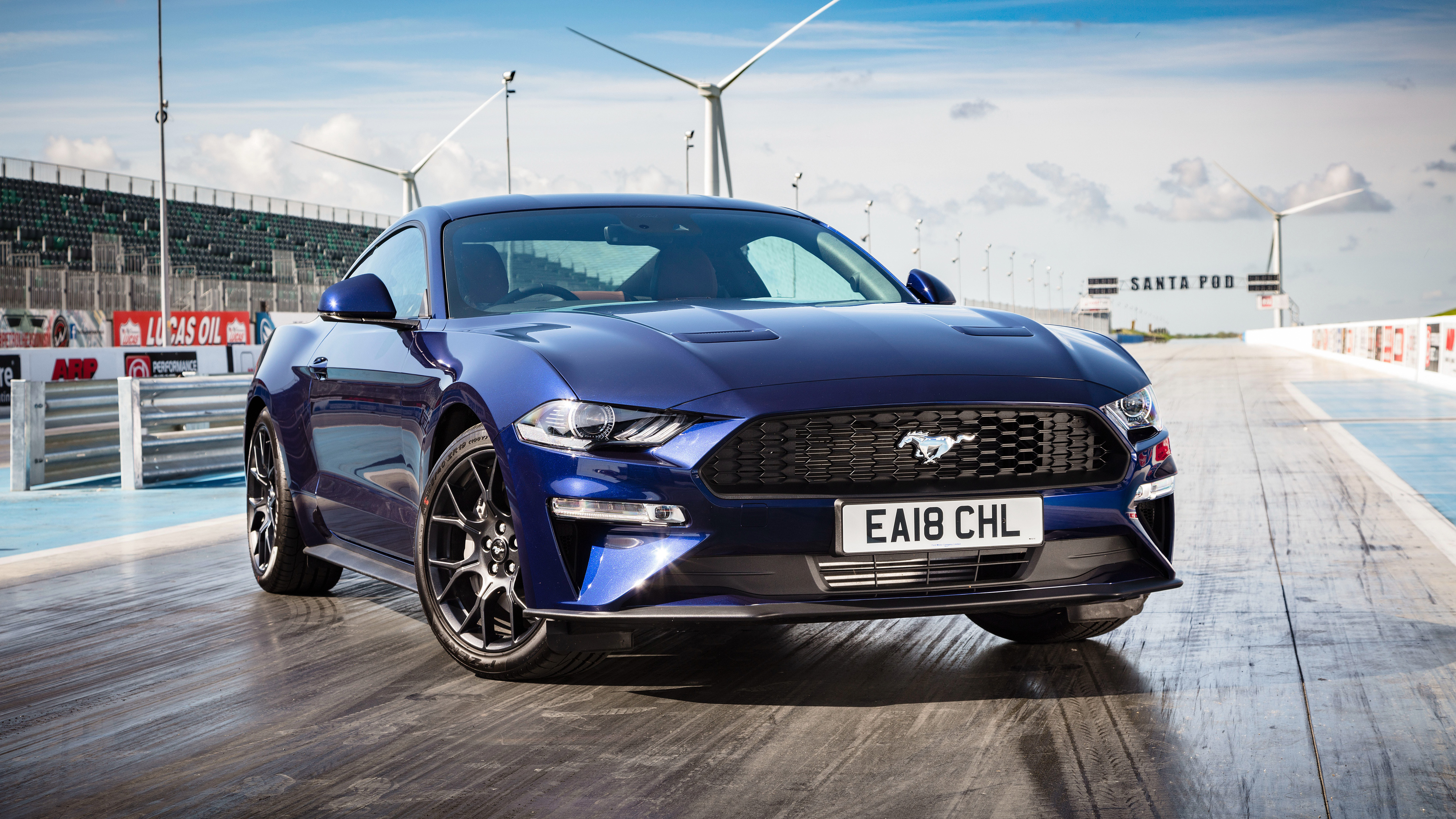 Ford Mustang Ecoboost Fastback 4k 2018 Wallpapers Hd Wallpapers