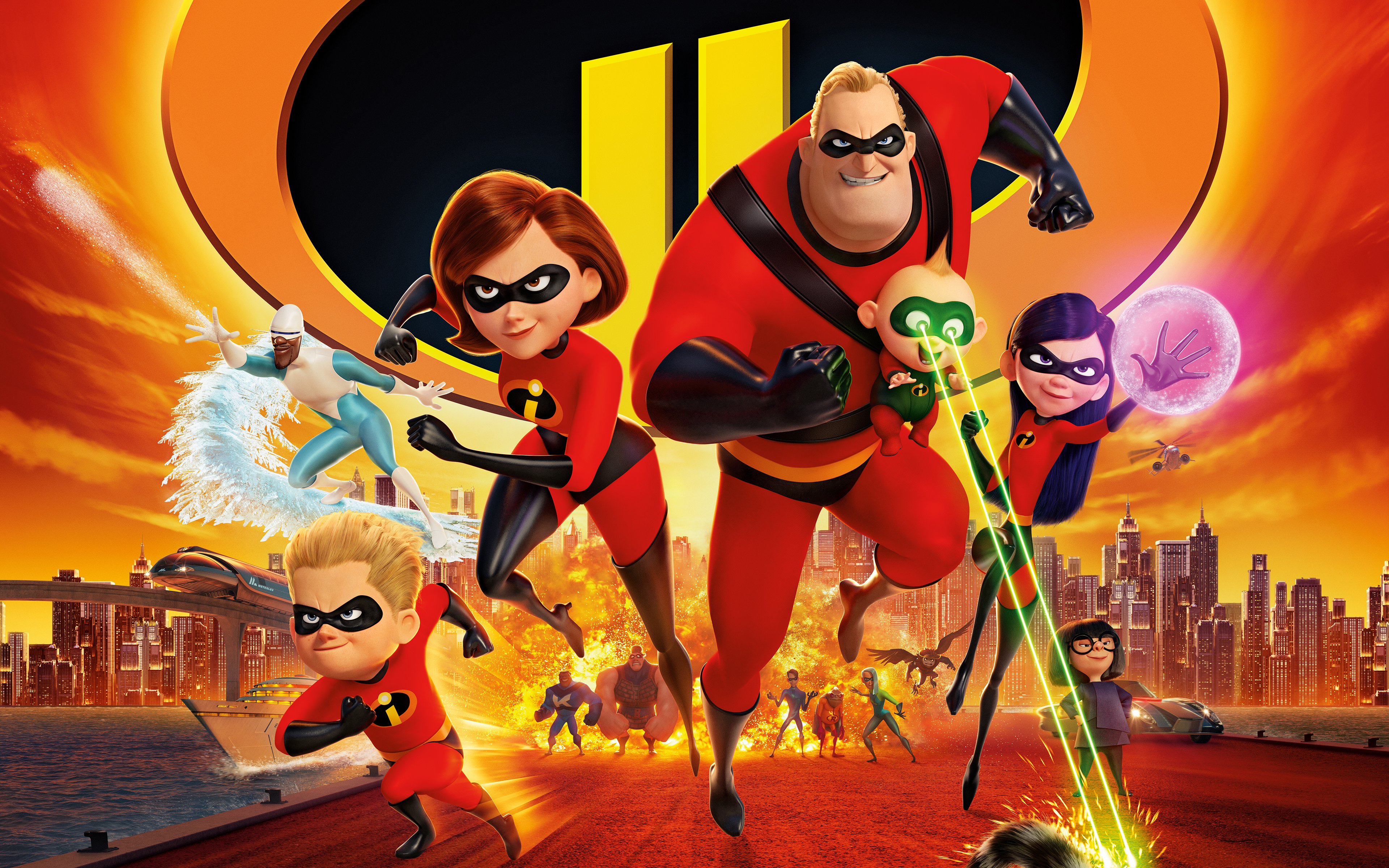 Incredibles 2 2018 Animation 4k 8k Wallpapers Hd Wallpapers