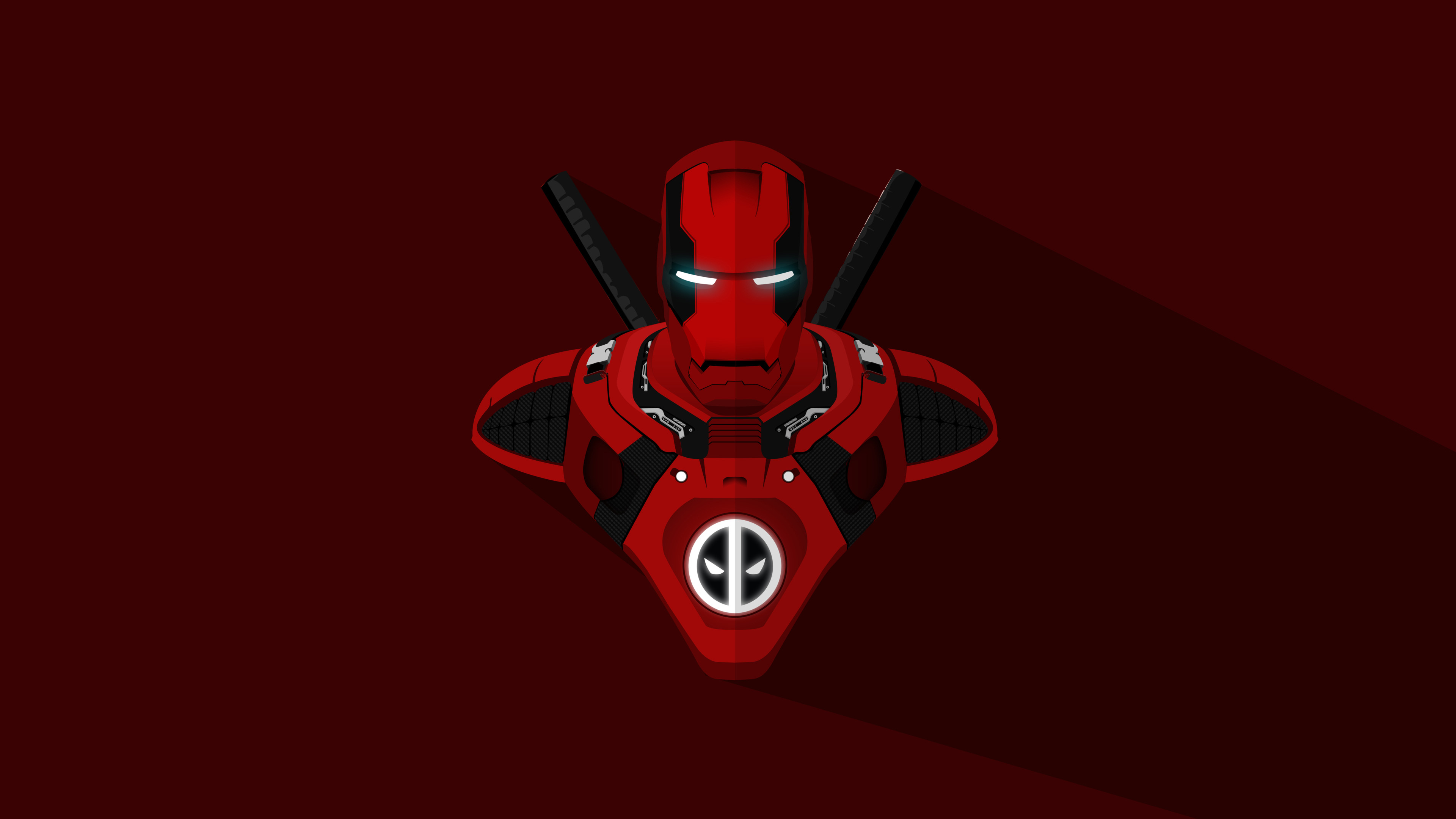 Iron Man Deadpool Crossover 4k Wallpapers Hd Wallpapers