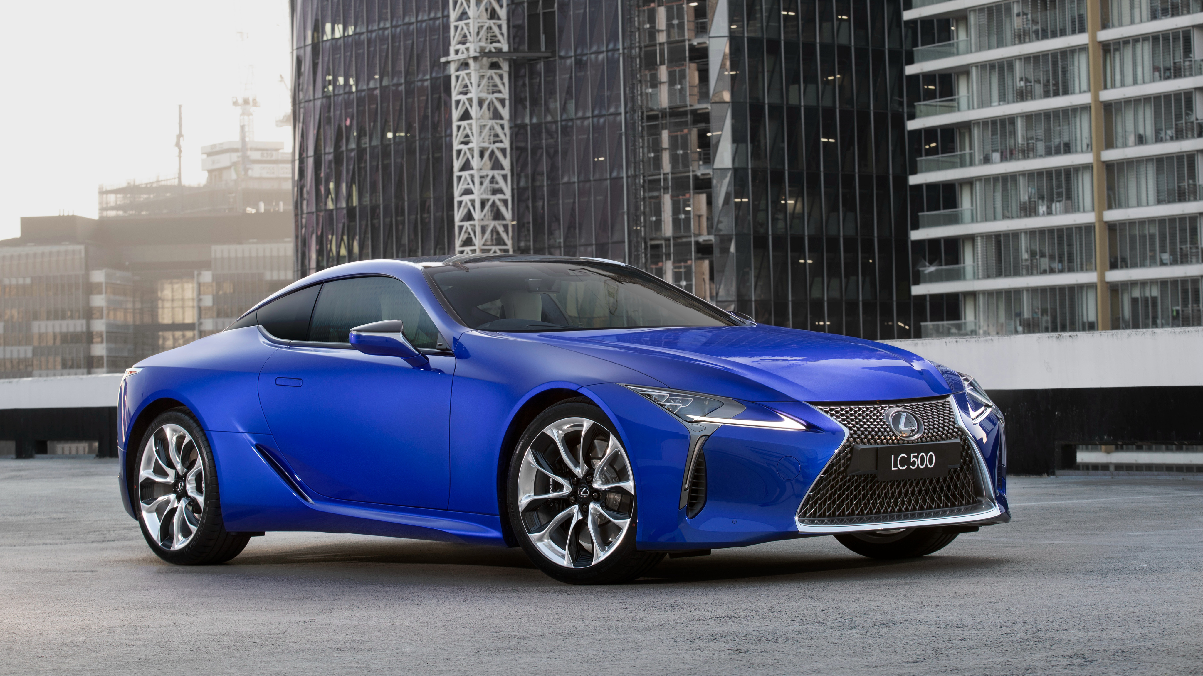 Lexus Lc 500 Morphic Blue Limited Edition 2018 4k Wallpapers Hd