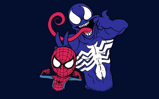 Spider Man And Venom 4k 8k Wallpapers Hd Wallpapers