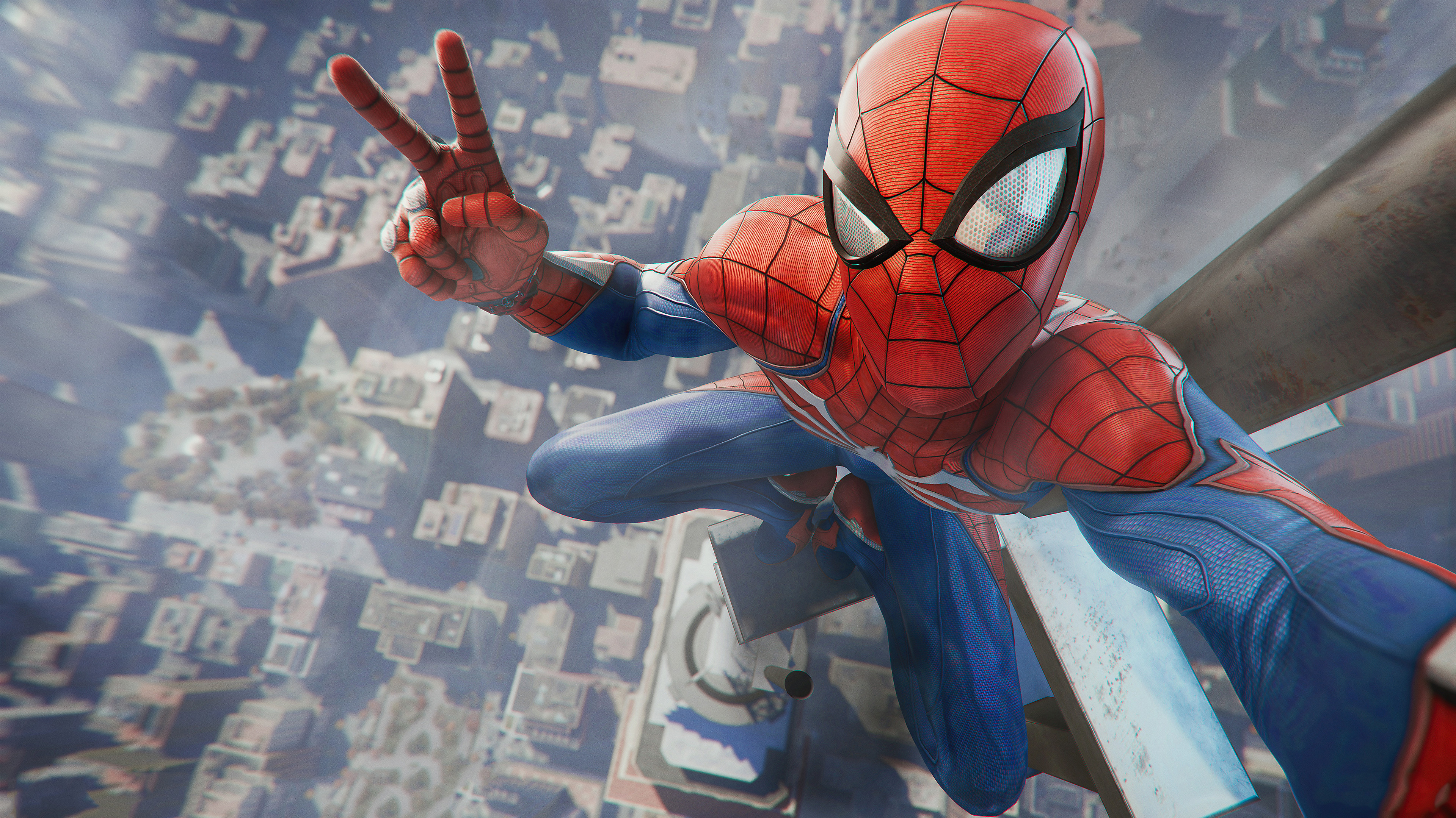 Spider Man Game Playstation 4 2018 4k Wallpapers Hd Wallpapers