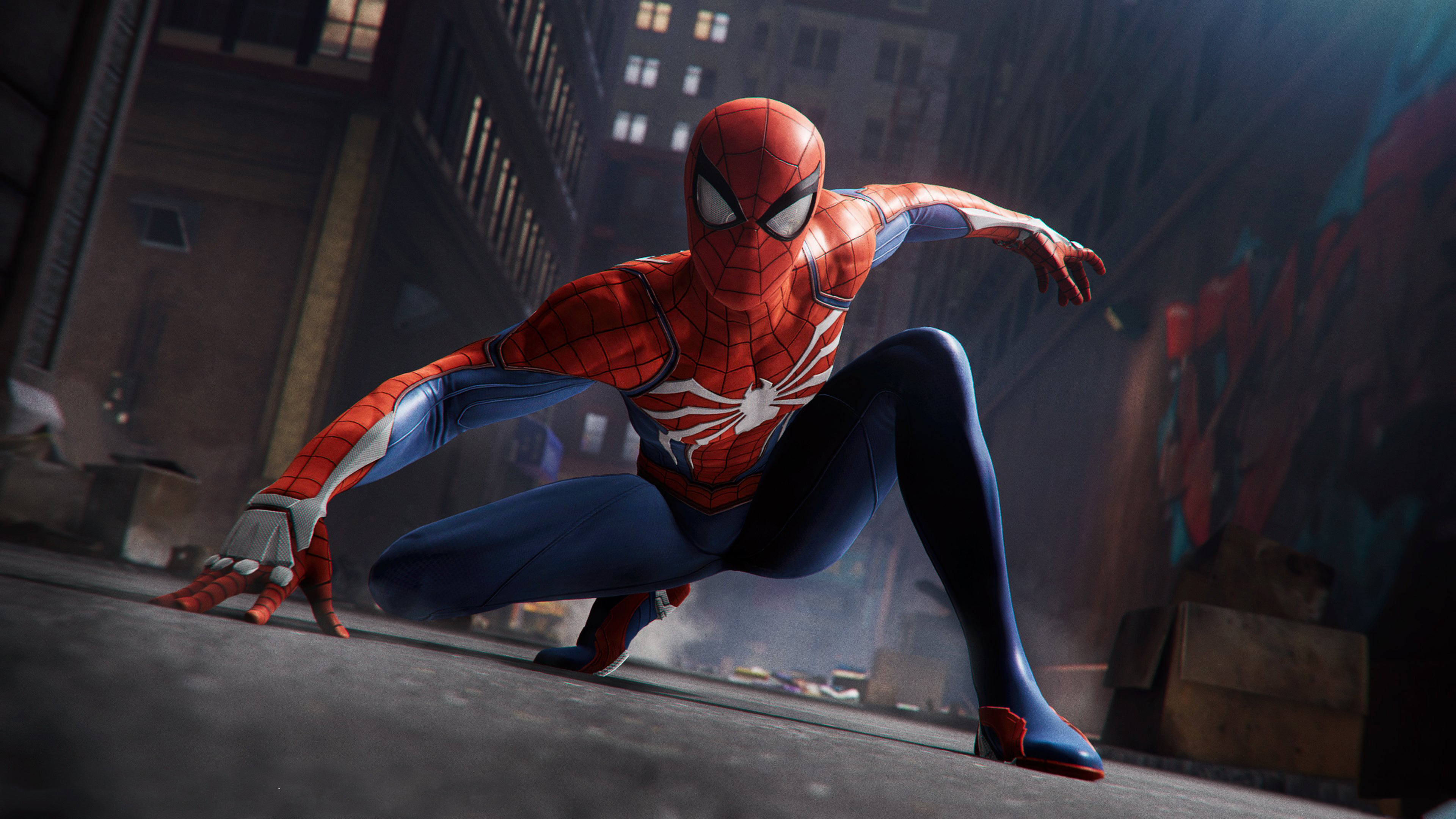 Spider Man Ps4 Game 4k Wallpapers Hd Wallpapers